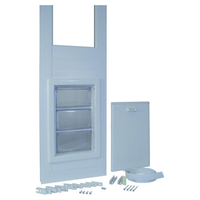 Ideal pet products vip medium pet door reviews wayfair for Ideal dog door