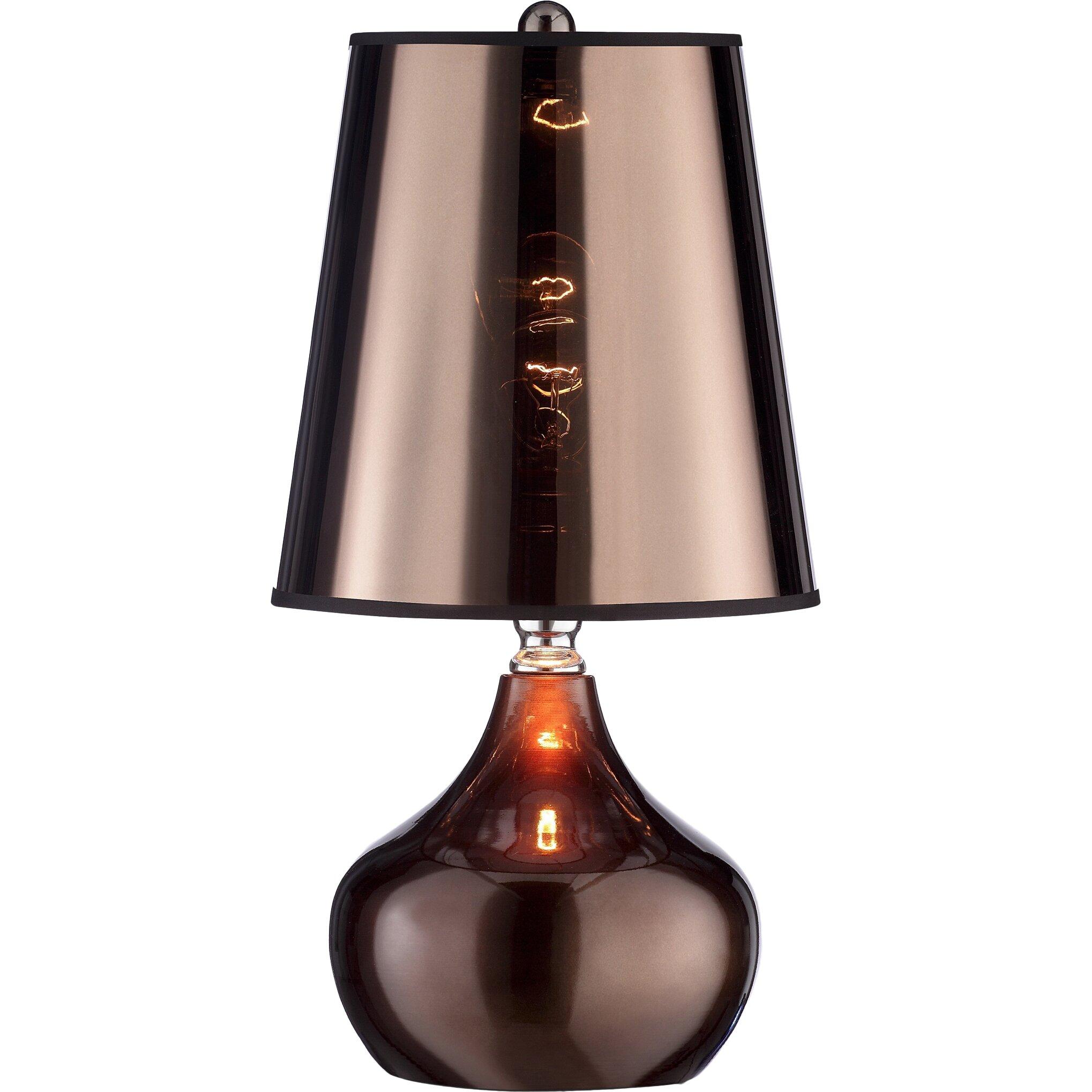 ok lighting lustre 18 table lamp reviews. Black Bedroom Furniture Sets. Home Design Ideas