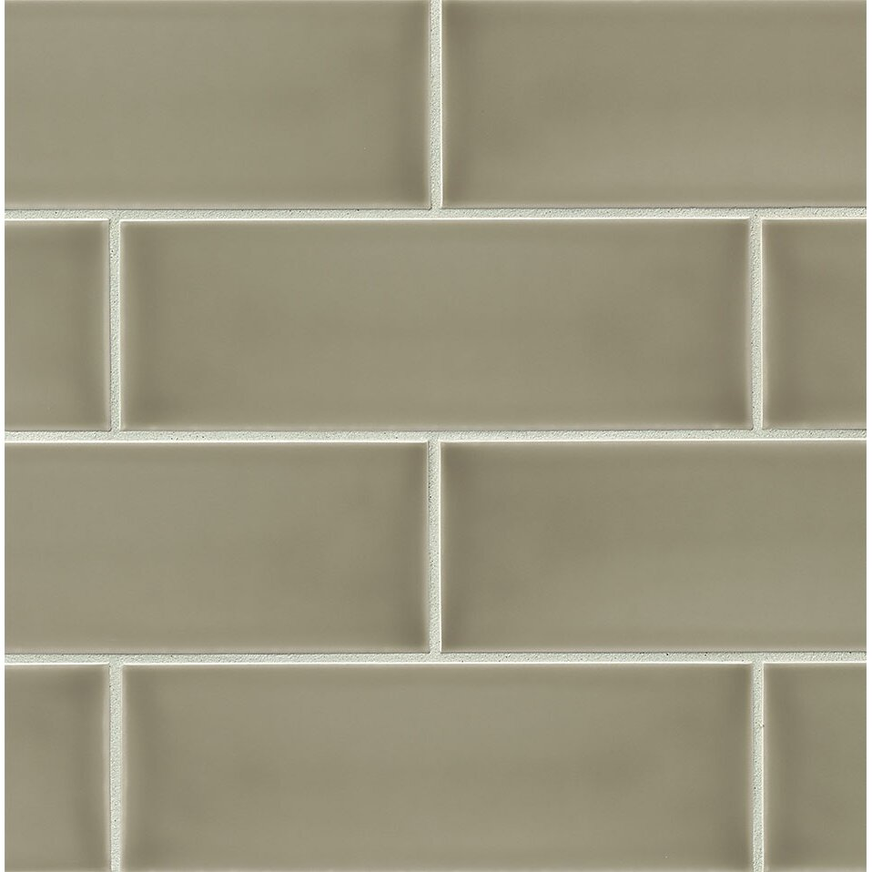 Bedrosians Grace 4 X 12 Ceramic Subway Tile In Ecru Reviews Wayfair