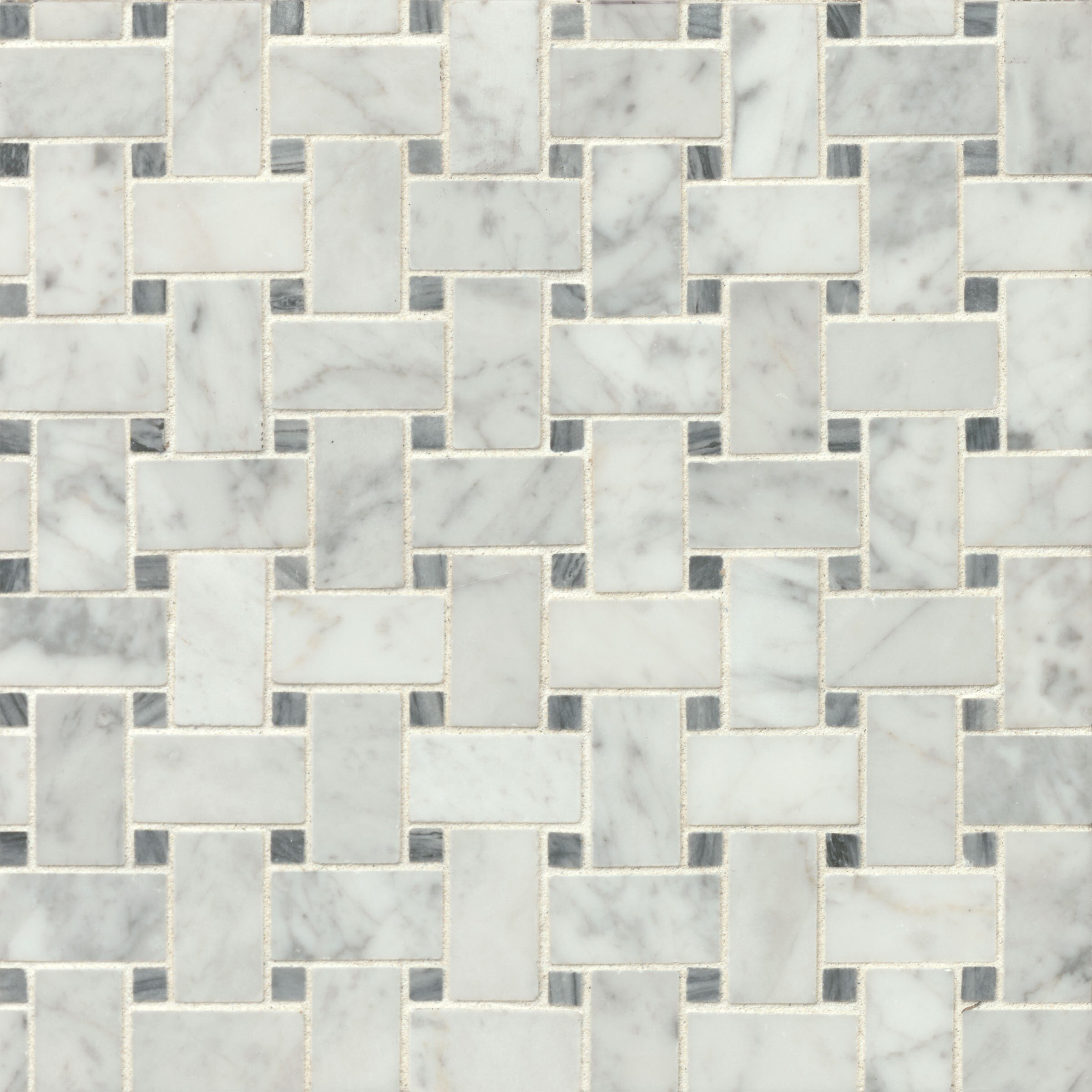 bedrosians honed 12 x 12 honed marble mosaic tile in
