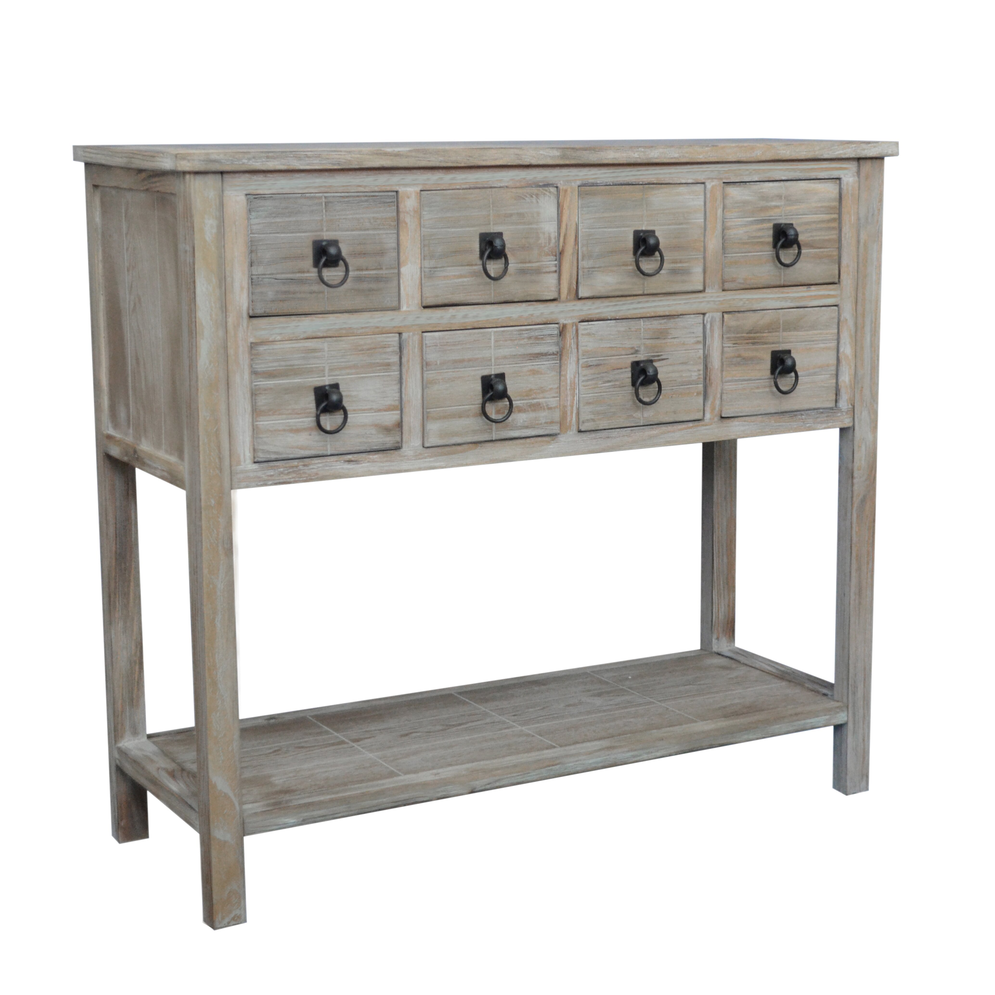 Gallerie Decor Driftwood Console Table & Reviews