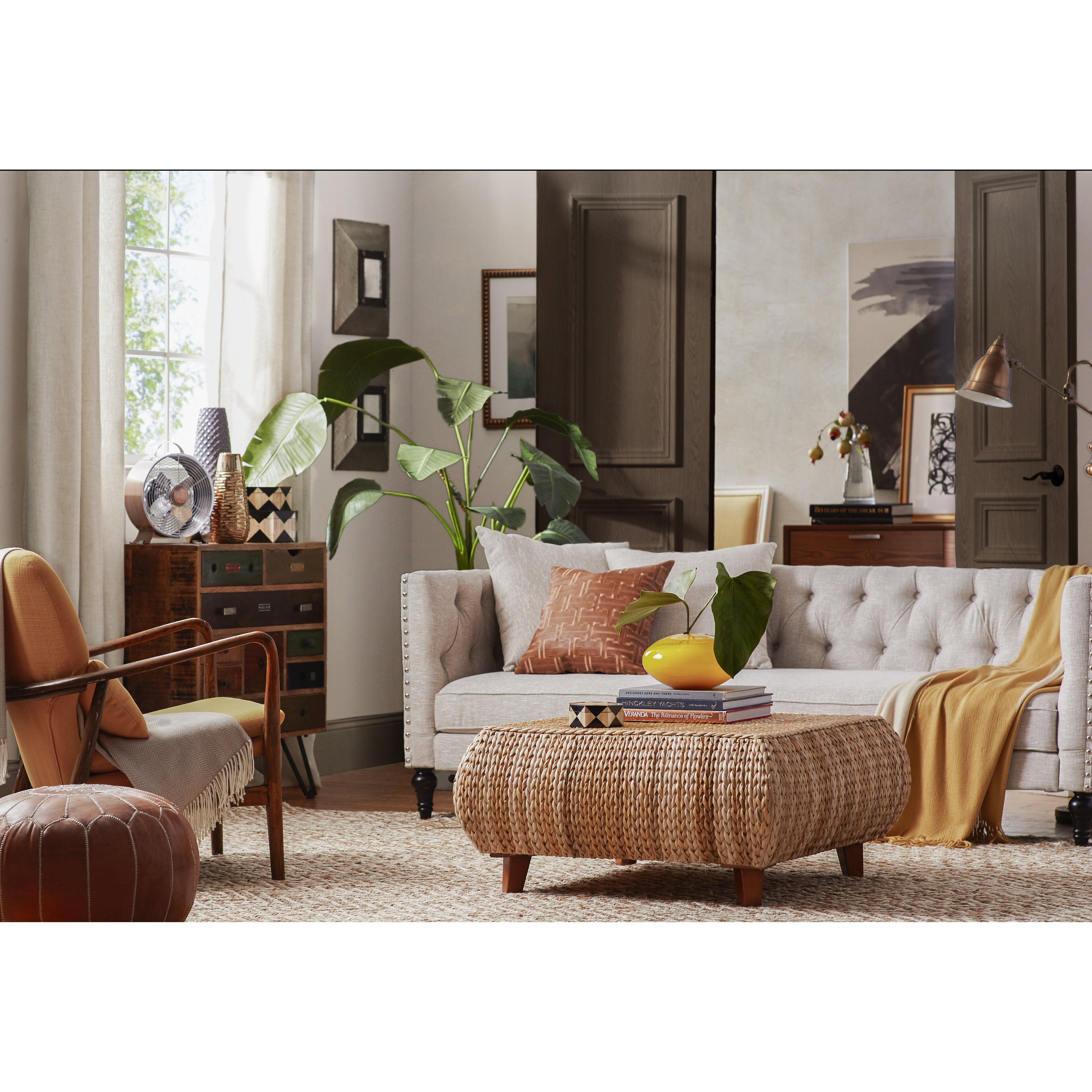 Gallerie Decor Bali Breeze Coffee Table & Reviews