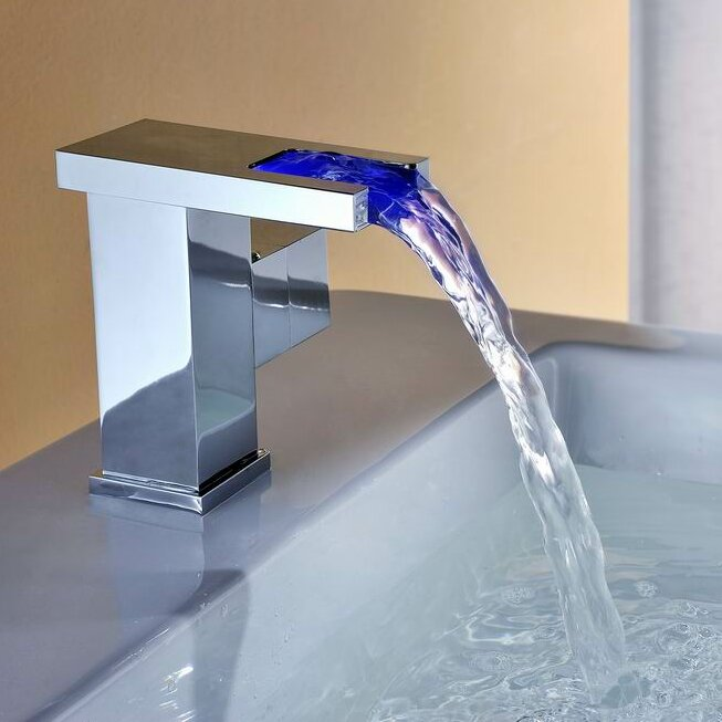Led Waterfall Faucet - Home & Architecture Design - Kitchenagenda.com