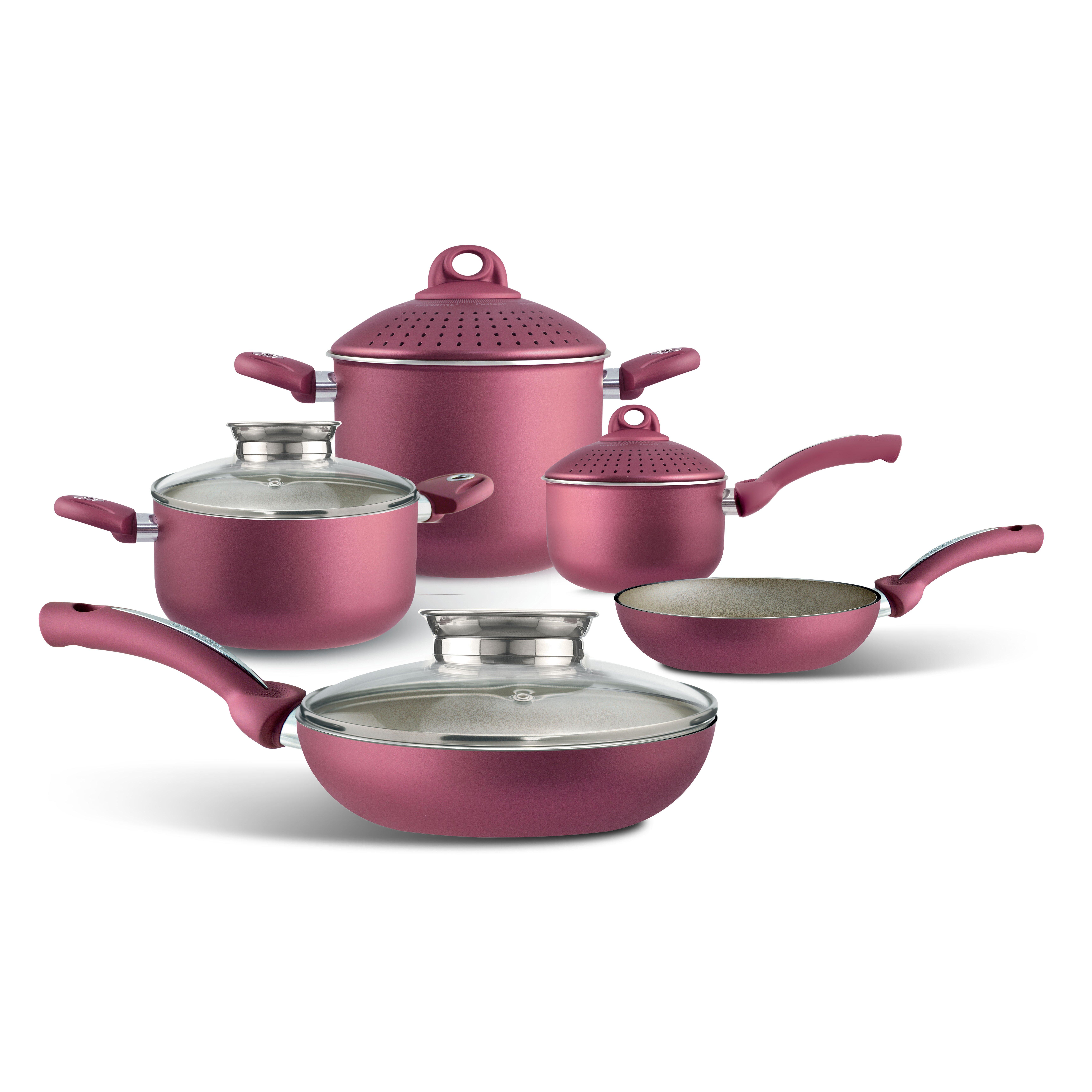Pensofal Uniqum Rubino 5 Piece Cookware Set Reviews
