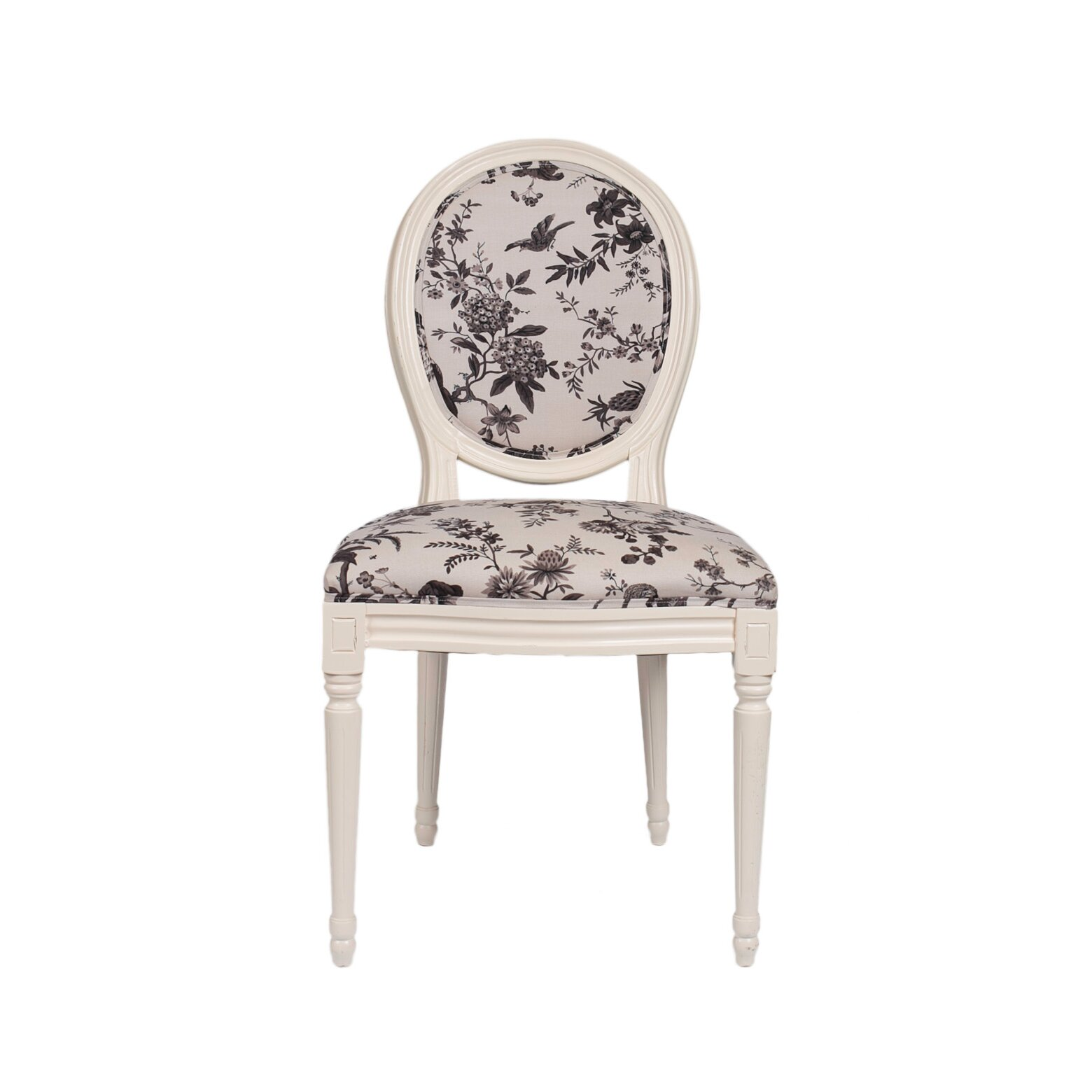 Floral Dining Room Chairs: Derry's Louis Floral Dining Chair & Reviews