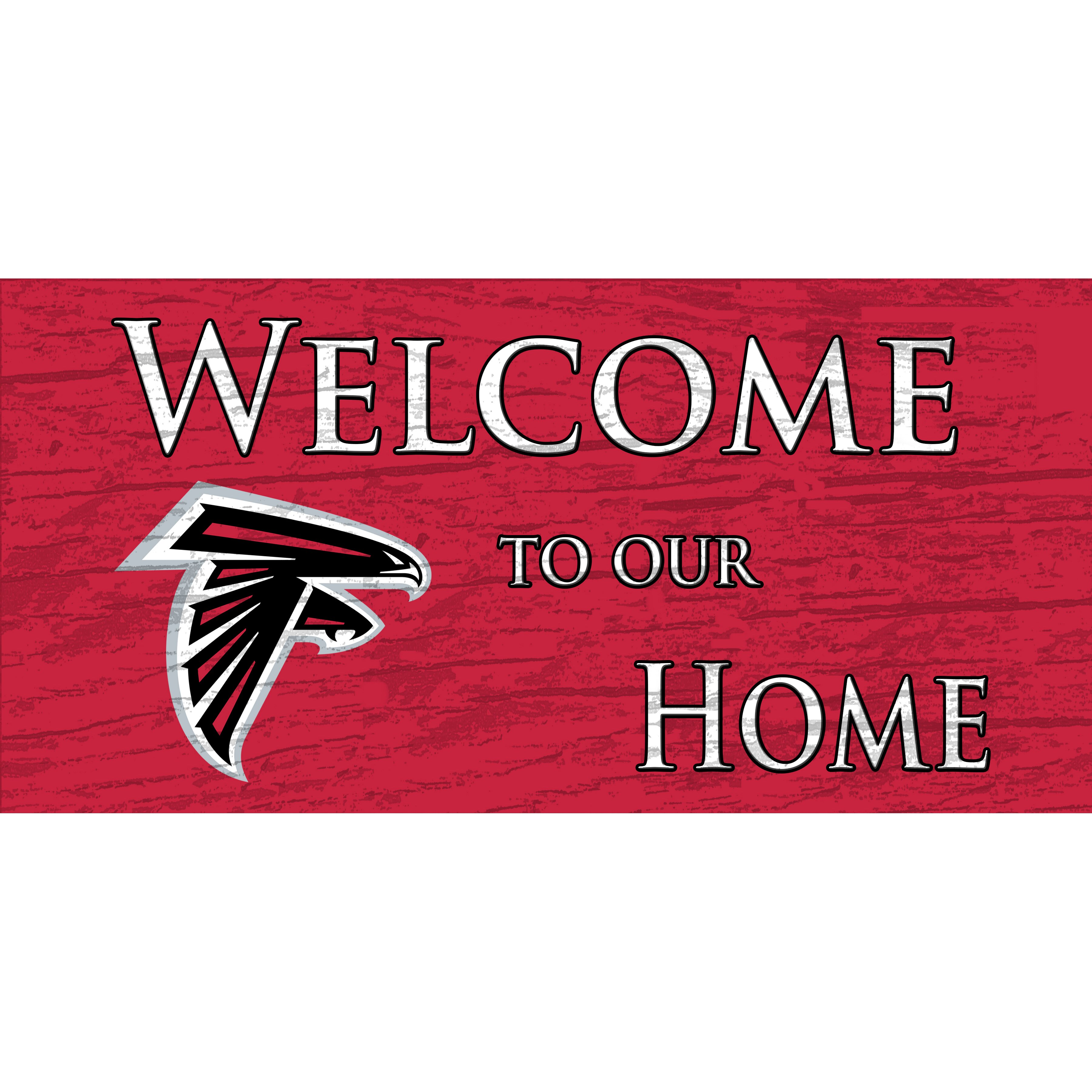 Fan Creations Nfl Welcome Home Textual Art Plaque