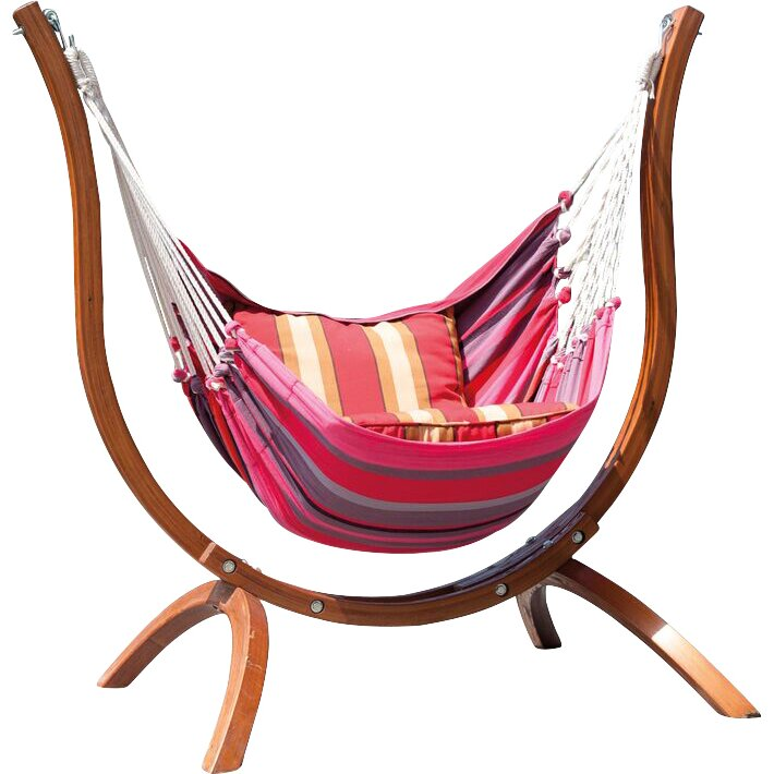 SunTime Outdoor Living Patagonia Wooden Striped Chair ... on Suntime Outdoor Living id=92711
