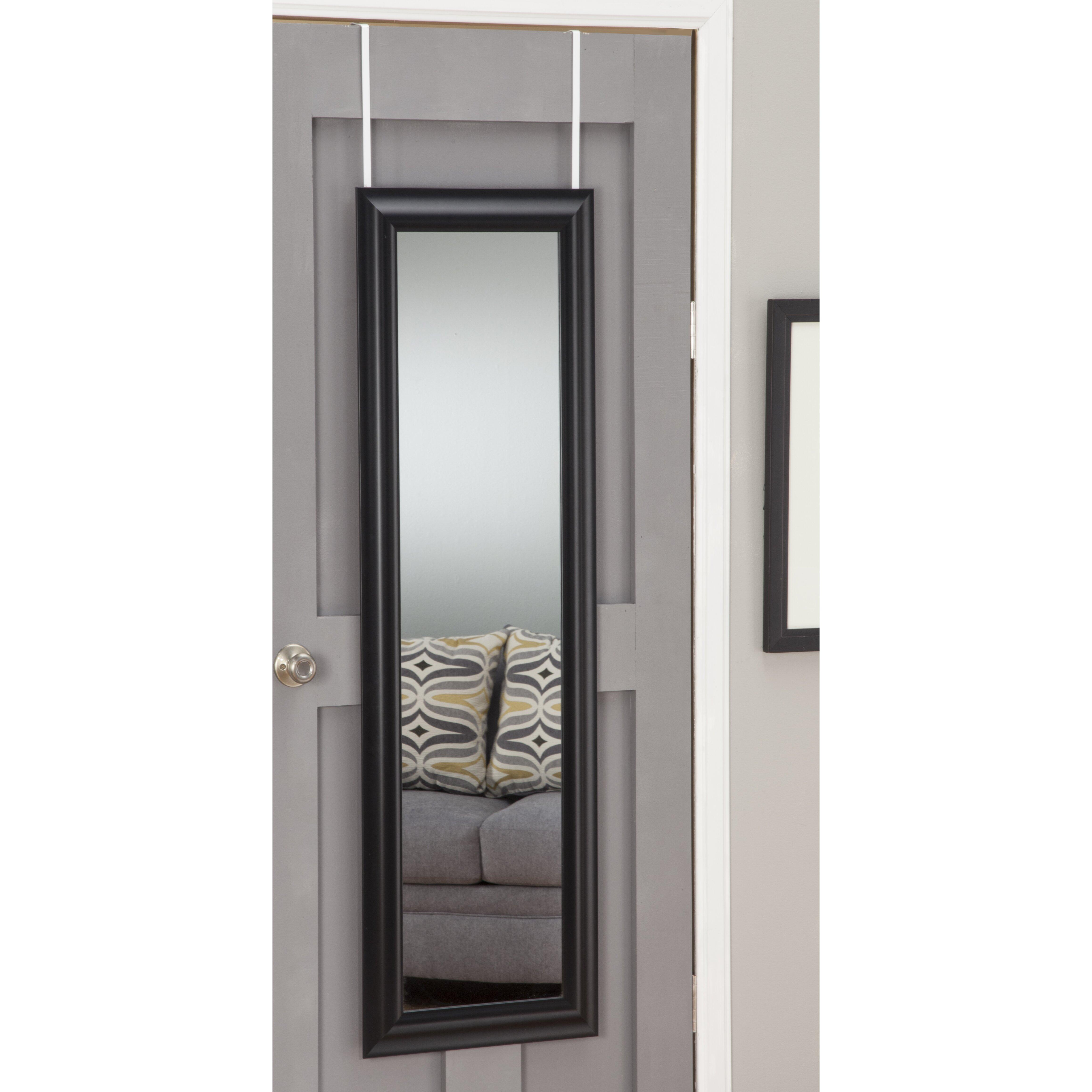 Sandberg Furniture Deluxe Over The Door Mirror Reviews