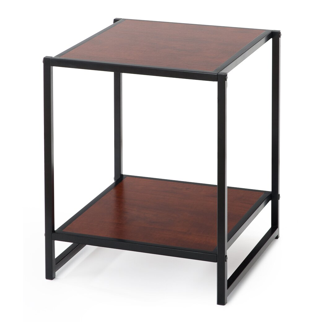 Zinus modern studio end table reviews wayfair Modern coffee and end tables