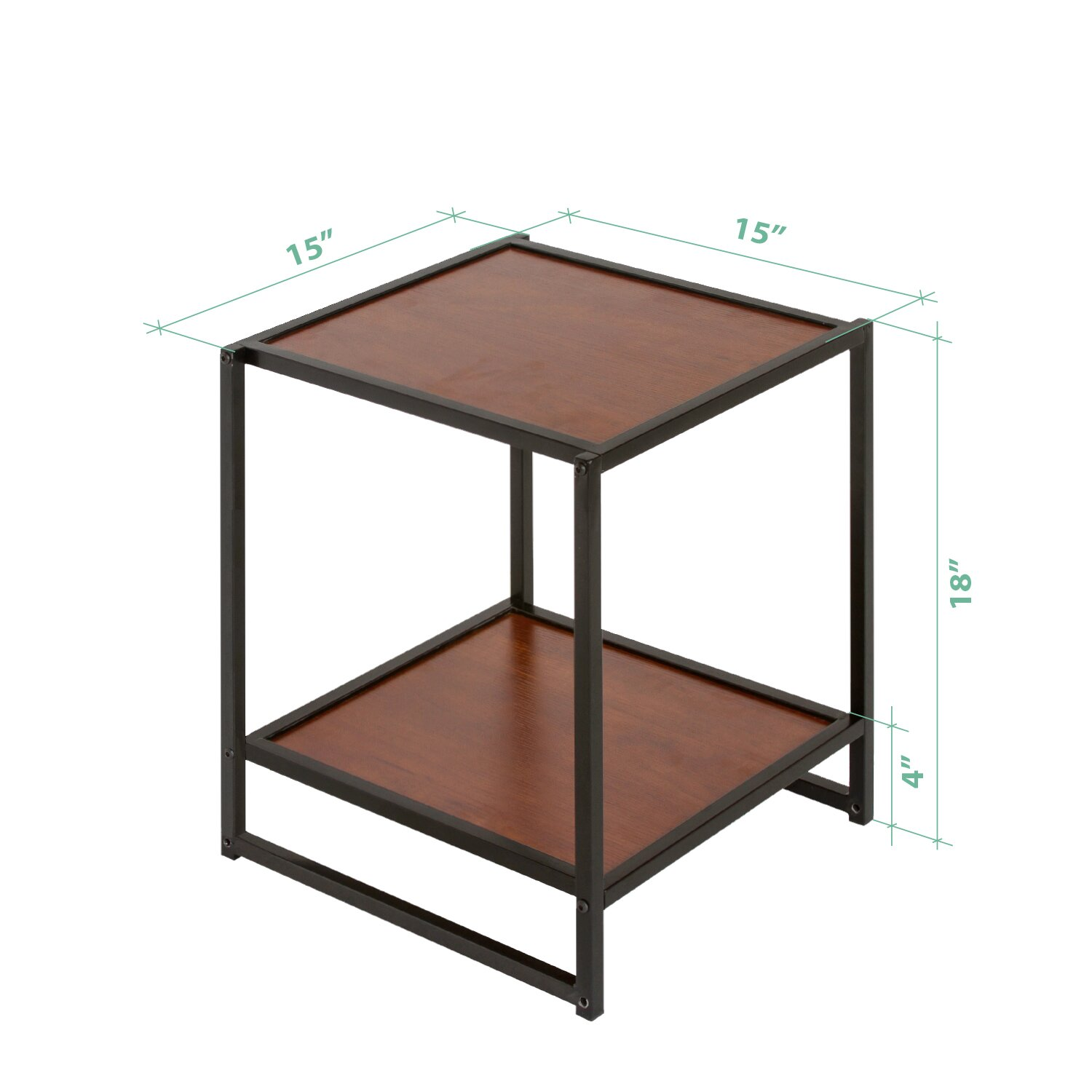 Zinus modern studio end table reviews wayfair for 11 inch table