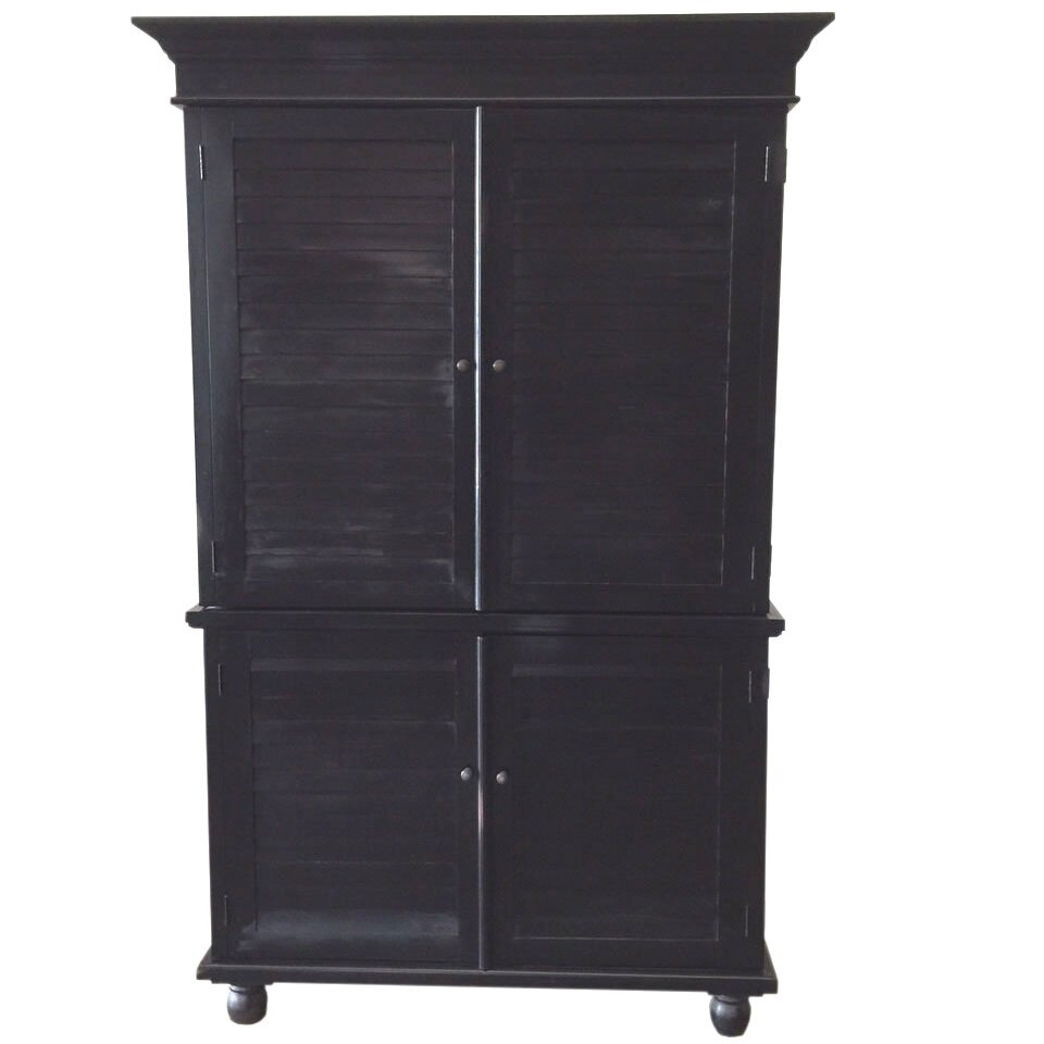 Louvered Armoire 28 Images Right Louvered Cabinet Home Styles Hton Computer Armoire With