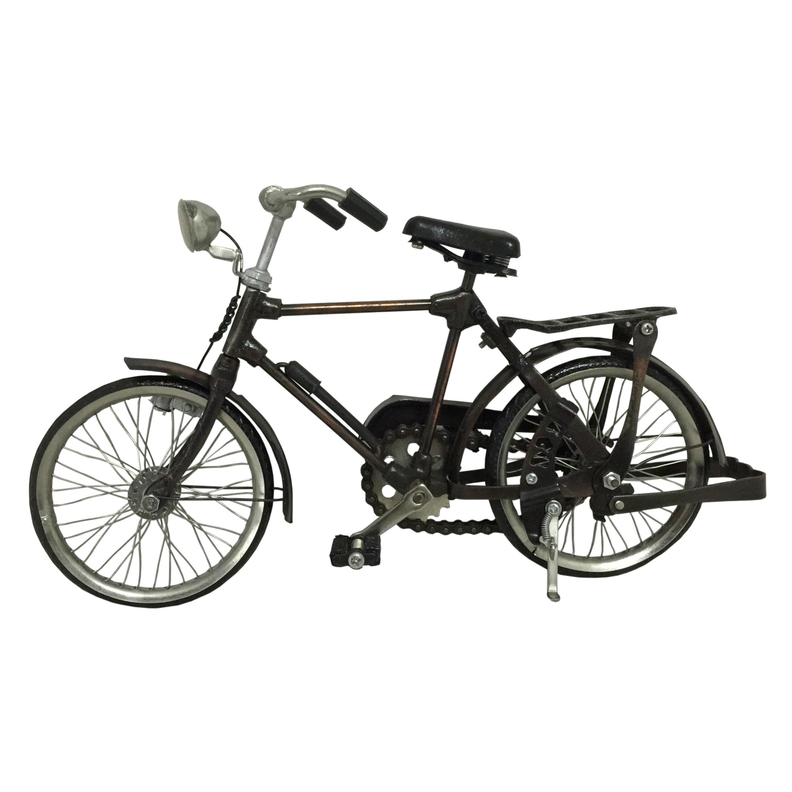 D Art Collection Metal Vintage Male Model Bicycle Wayfair