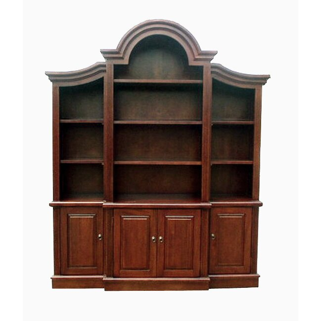 D Art Collection Arch Top 92 Quot Oversized Set Bookcase