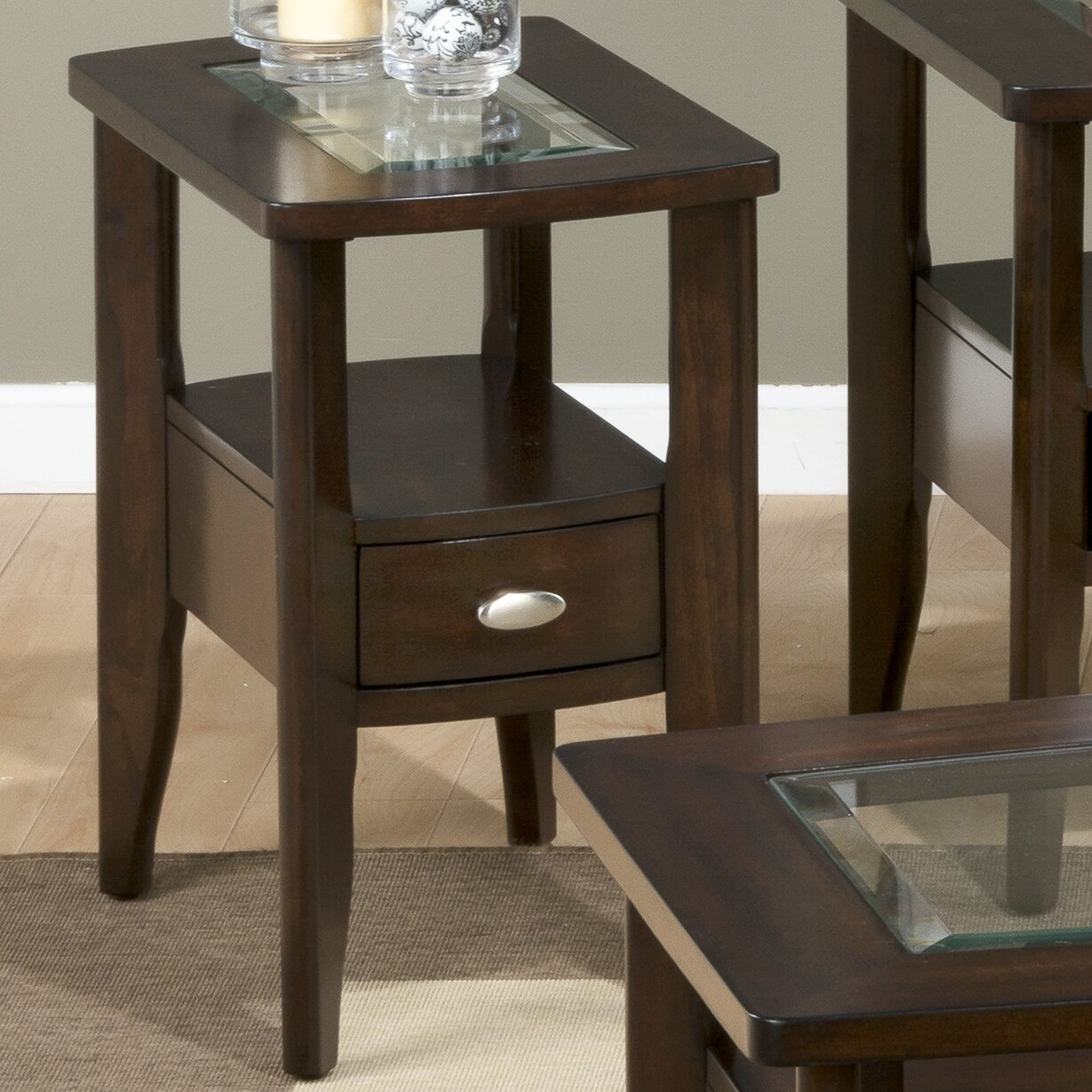 Jofran Montego Merlot Coffee Table Set Reviews
