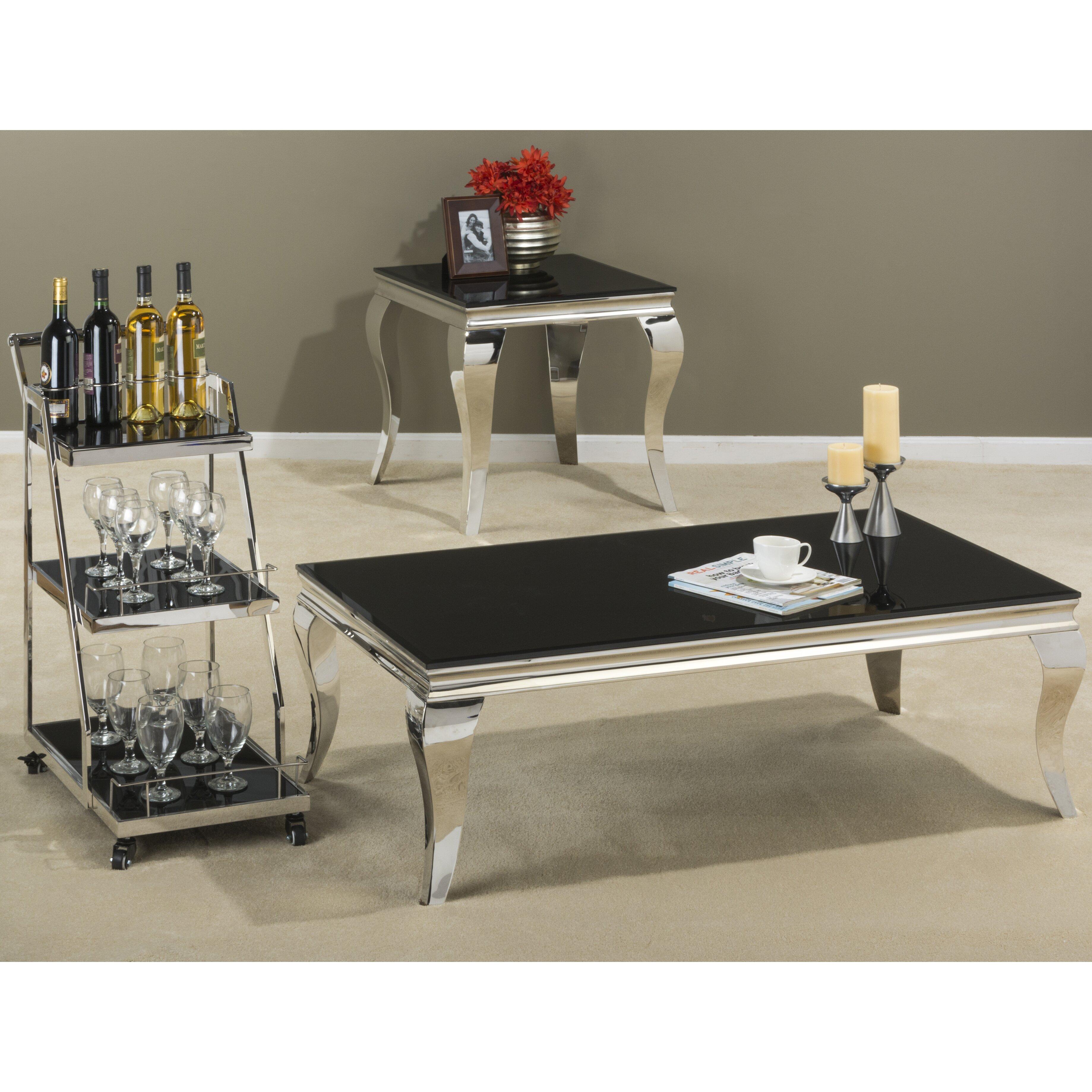 Jofran Tuxedo Coffee Table Set & Reviews