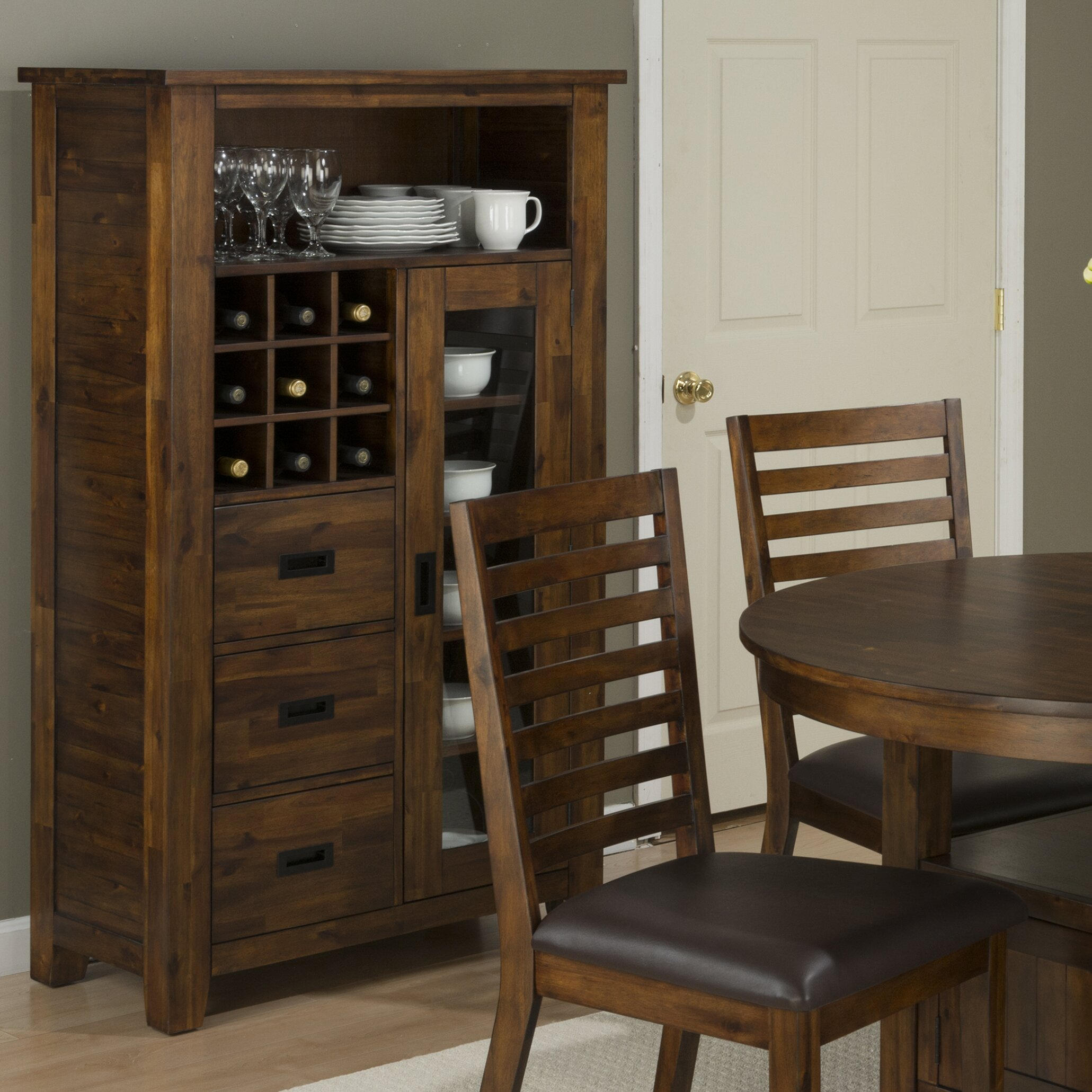 storage in kitchen loon peak oilton kitchen pantry amp reviews wayfair 2556