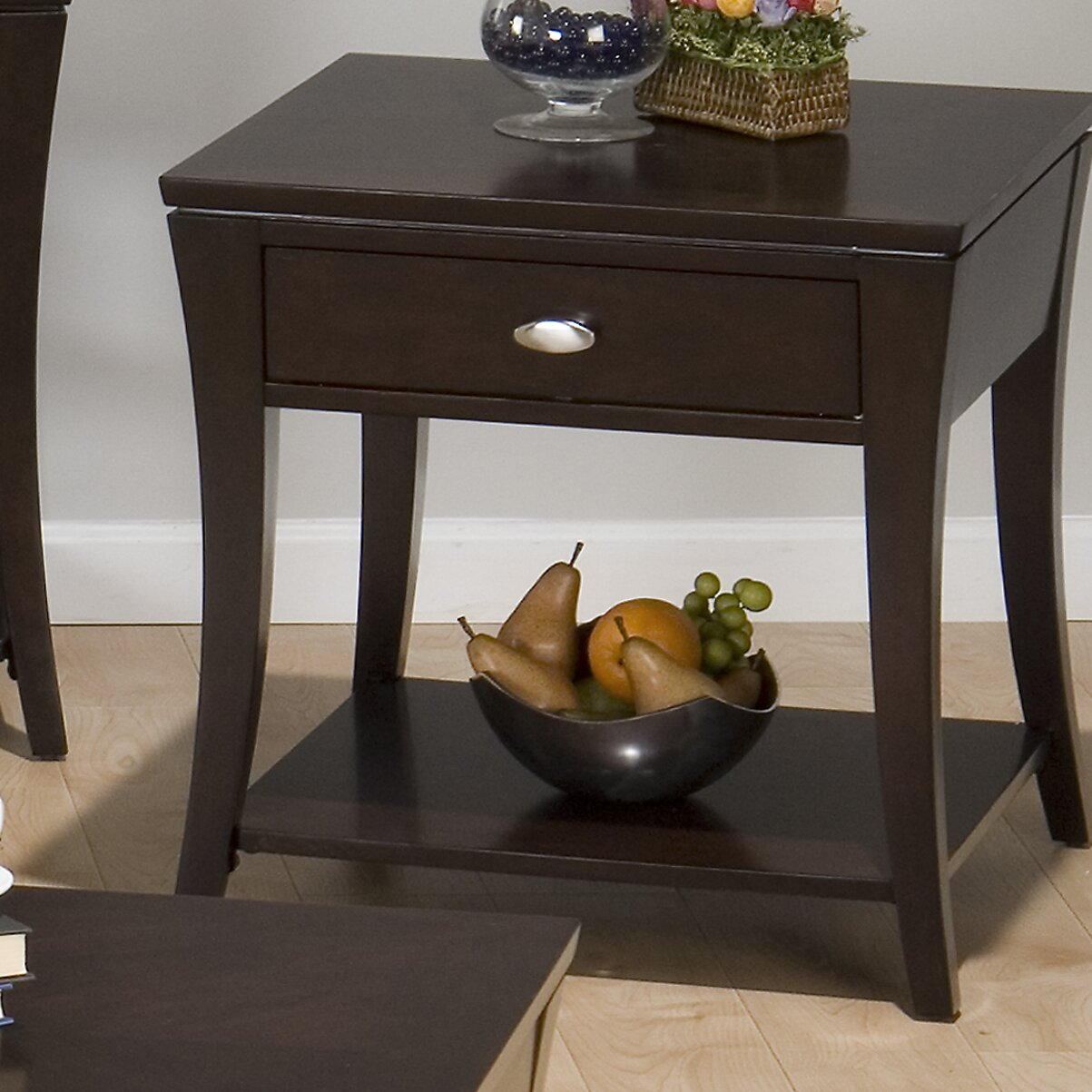 Jofran double header mobile coffee table set reviews for Movable coffee table