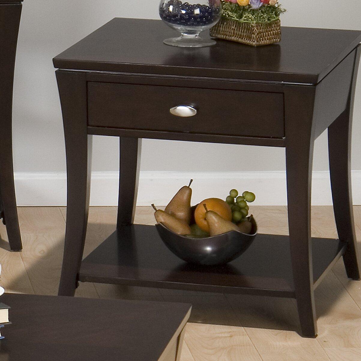 Jofran Double Header Mobile Coffee Table Set Reviews Wayfair