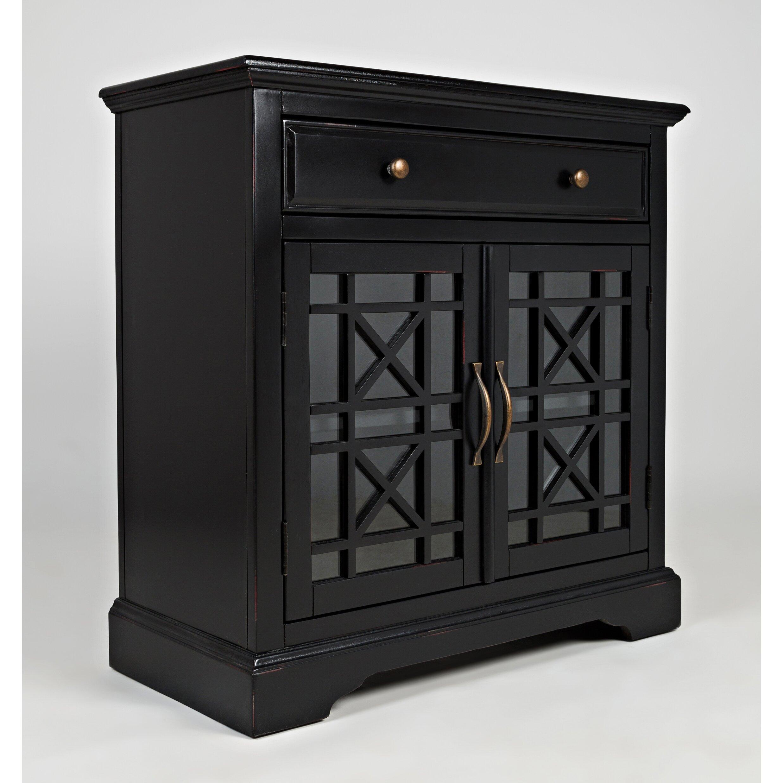 Jofran craftsman 1 drawer 2 door accent cabinet reviews for 1 drawer 2 door cabinet