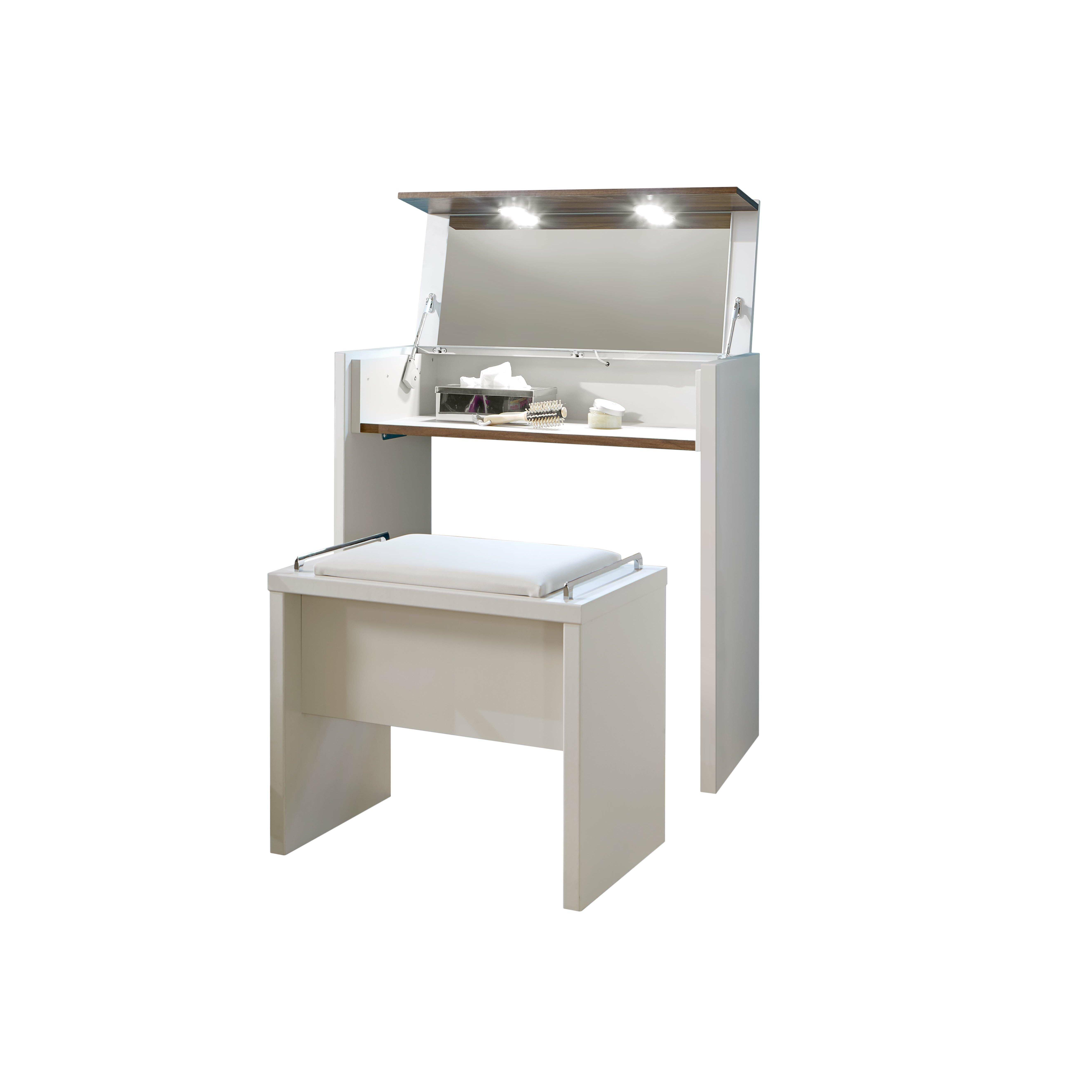 wiemann schminktisch set catania mit spiegel. Black Bedroom Furniture Sets. Home Design Ideas
