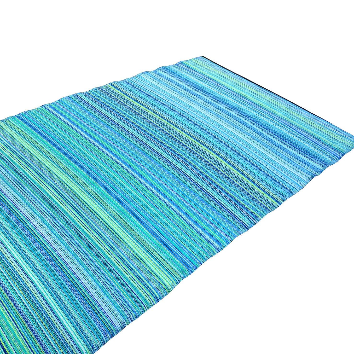 Green Decore Weaver Green Indoor/Outdoor Area Rug