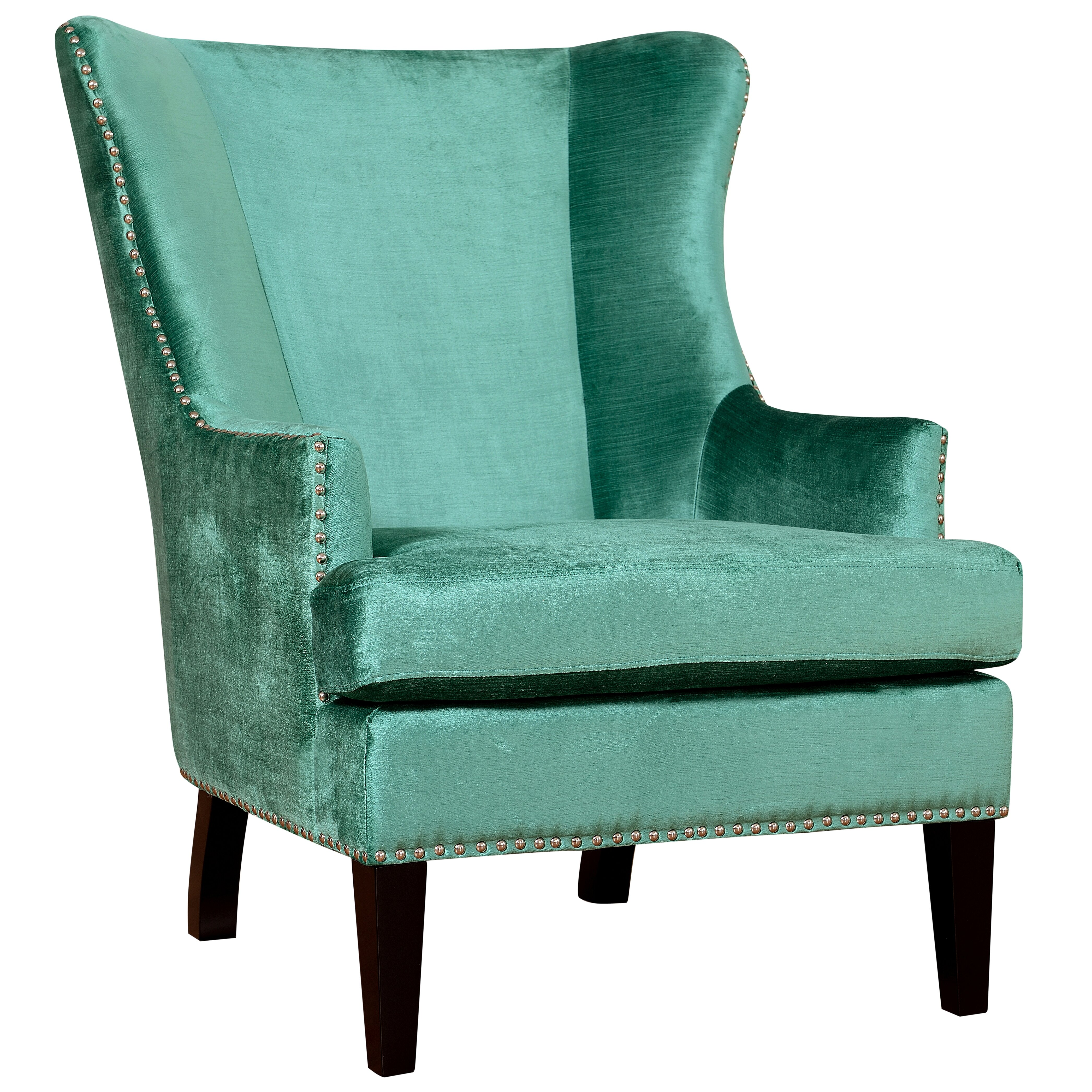 Tov soho wing chair reviews wayfair for Wingback chair