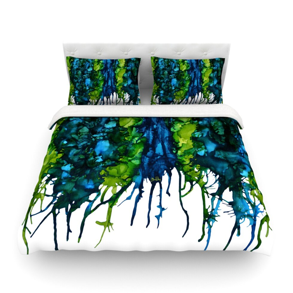 KESS InHouse Drops by Claire Day Featherweight Duvet Cover ...