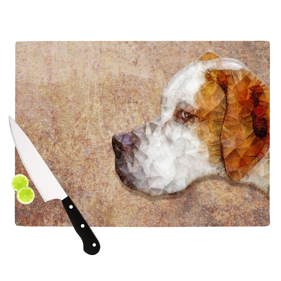 KESS InHouse Abstract Beagle by Ancello Cutting Board  : Abstract Beagle by Ancello Cutting Board AE1009ACB01 from www.wayfair.com size 980 x 980 jpeg 161kB