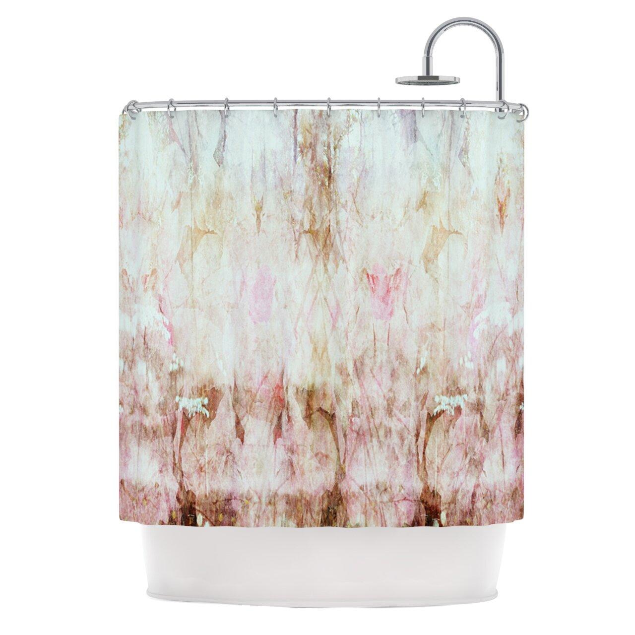 Kess Inhouse Florian Polyester Shower Curtain Wayfair