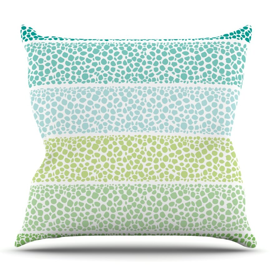 Zen Throw Pillows : KESS InHouse Zen Pebbles by Pom Graphic Design Outdoor Throw Pillow Wayfair