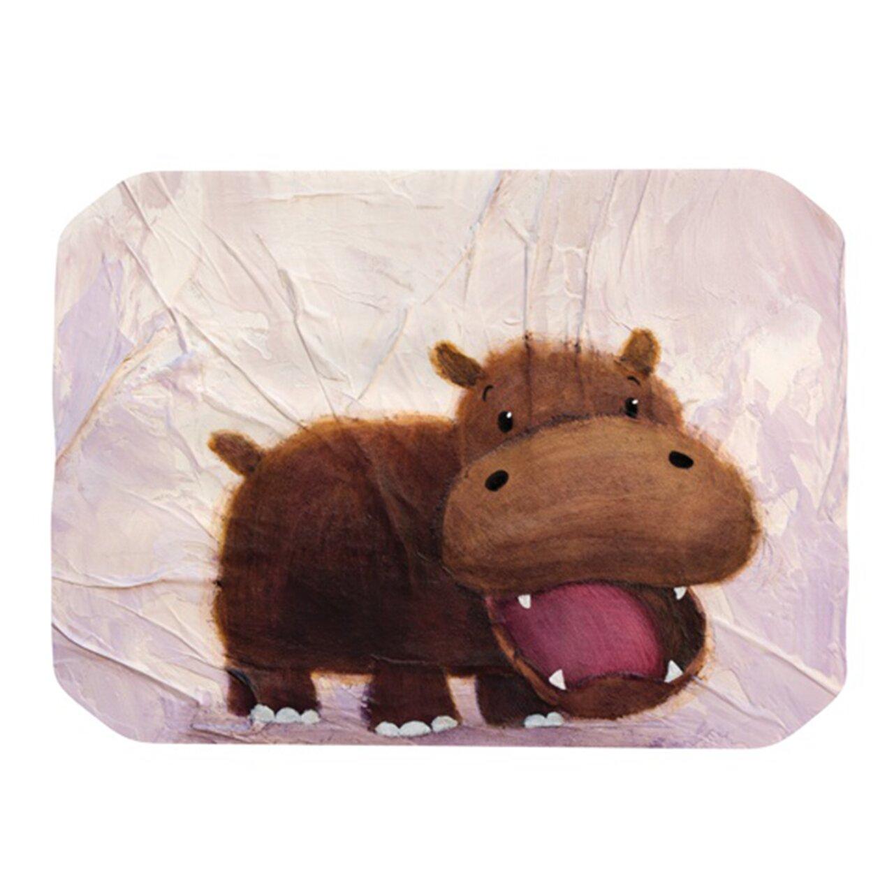 Kess Inhouse The Happy Hippo Placemat Wayfair
