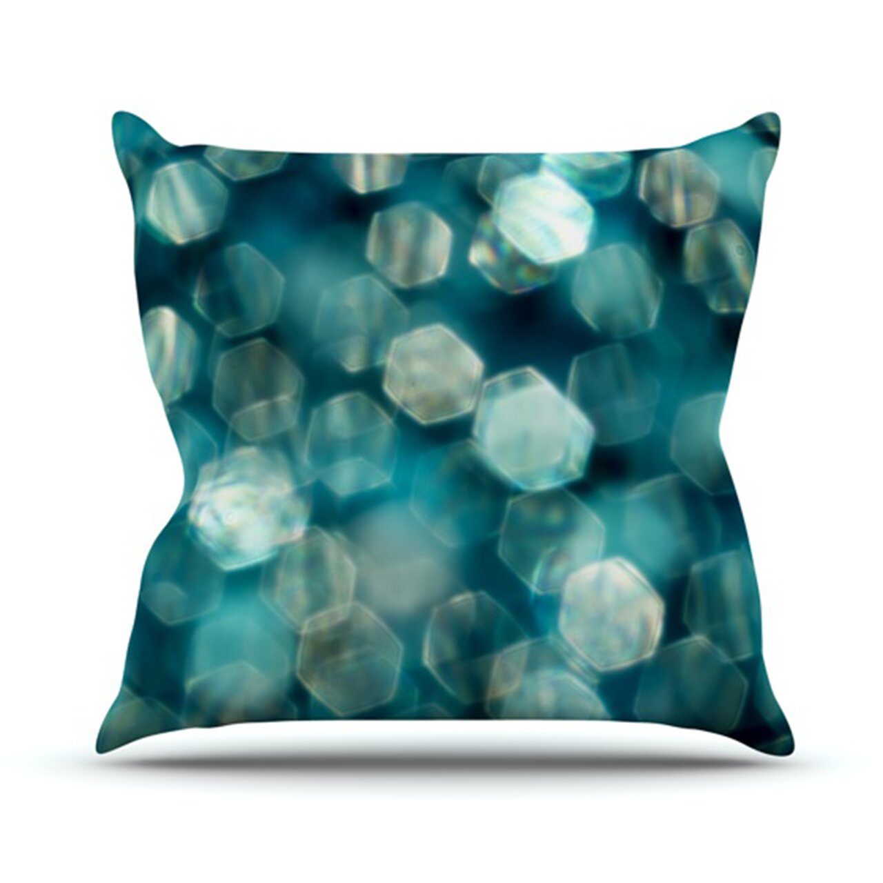 Throw Pillow Fight Viewing Guide Answers : KESS InHouse Shades Throw Pillow & Reviews Wayfair