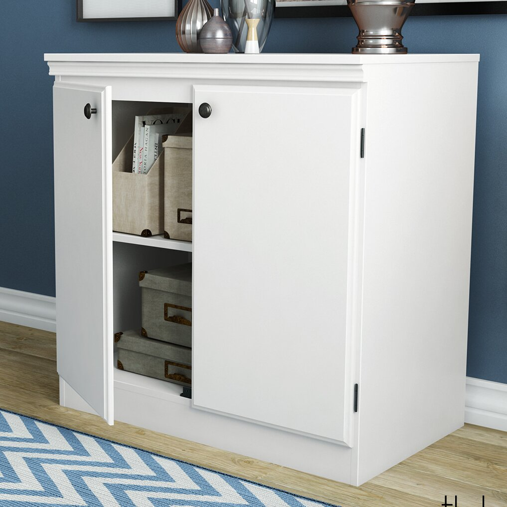 South Shore Morgan 2 Door Storage Cabinet Amp Reviews Wayfair