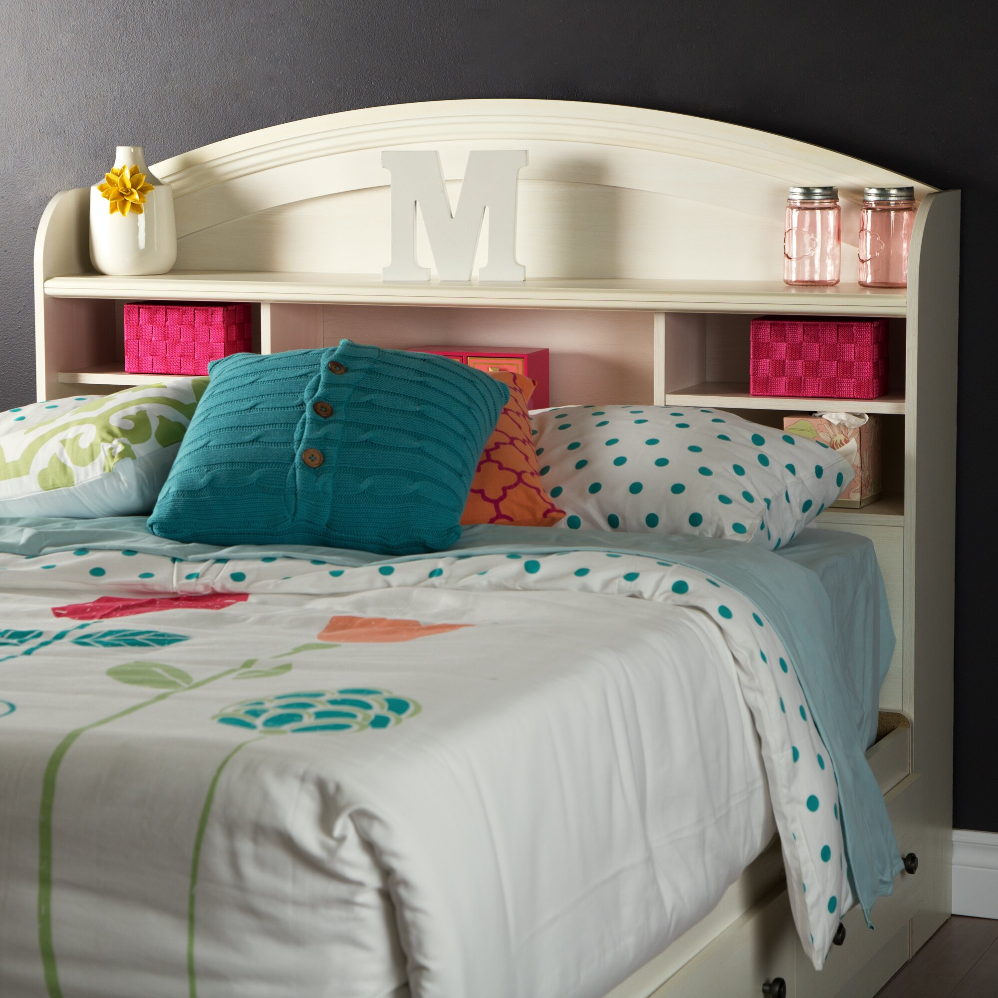 South shore country poetry bedroom set reviews wayfair - South shore furniture bedroom sets ...