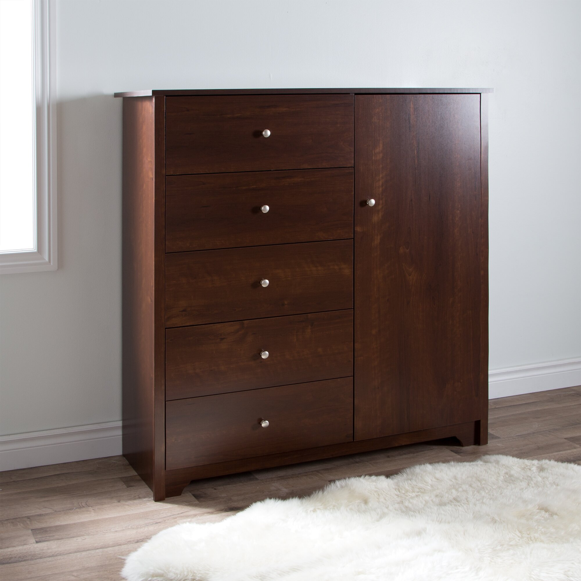 South shore vito drawer combo dresser reviews wayfair