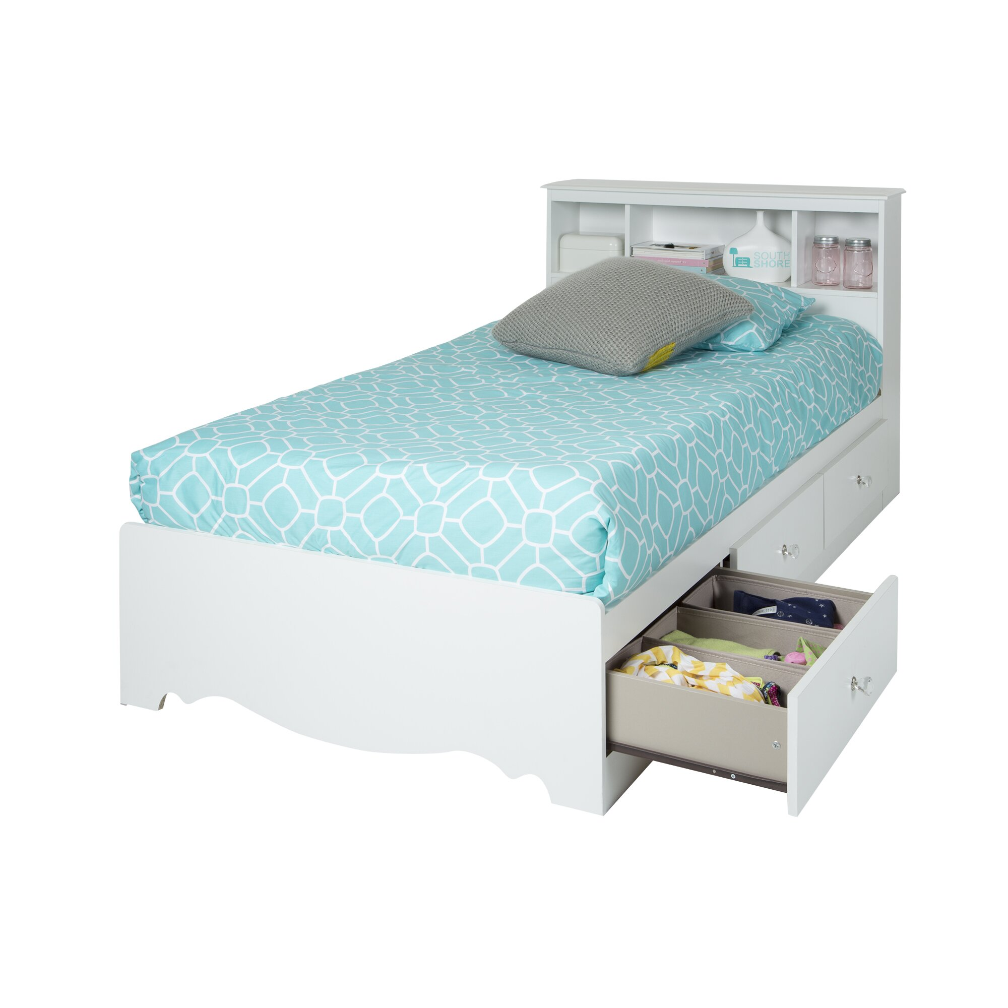 South Shore Crystal Full Mate S Bed With Storage