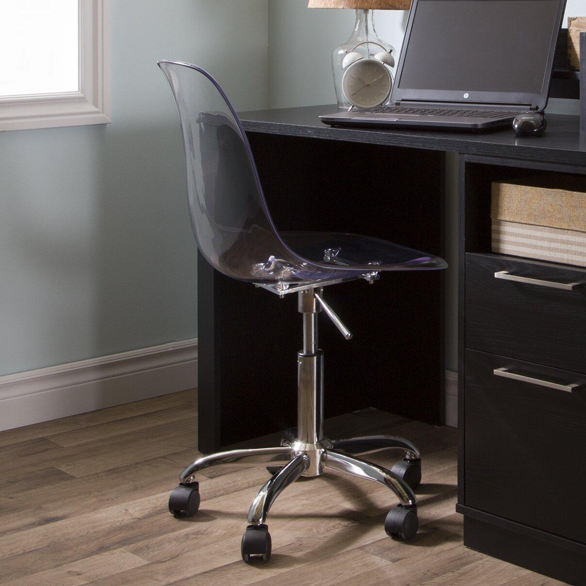 south shore desk chair acrylic office chair