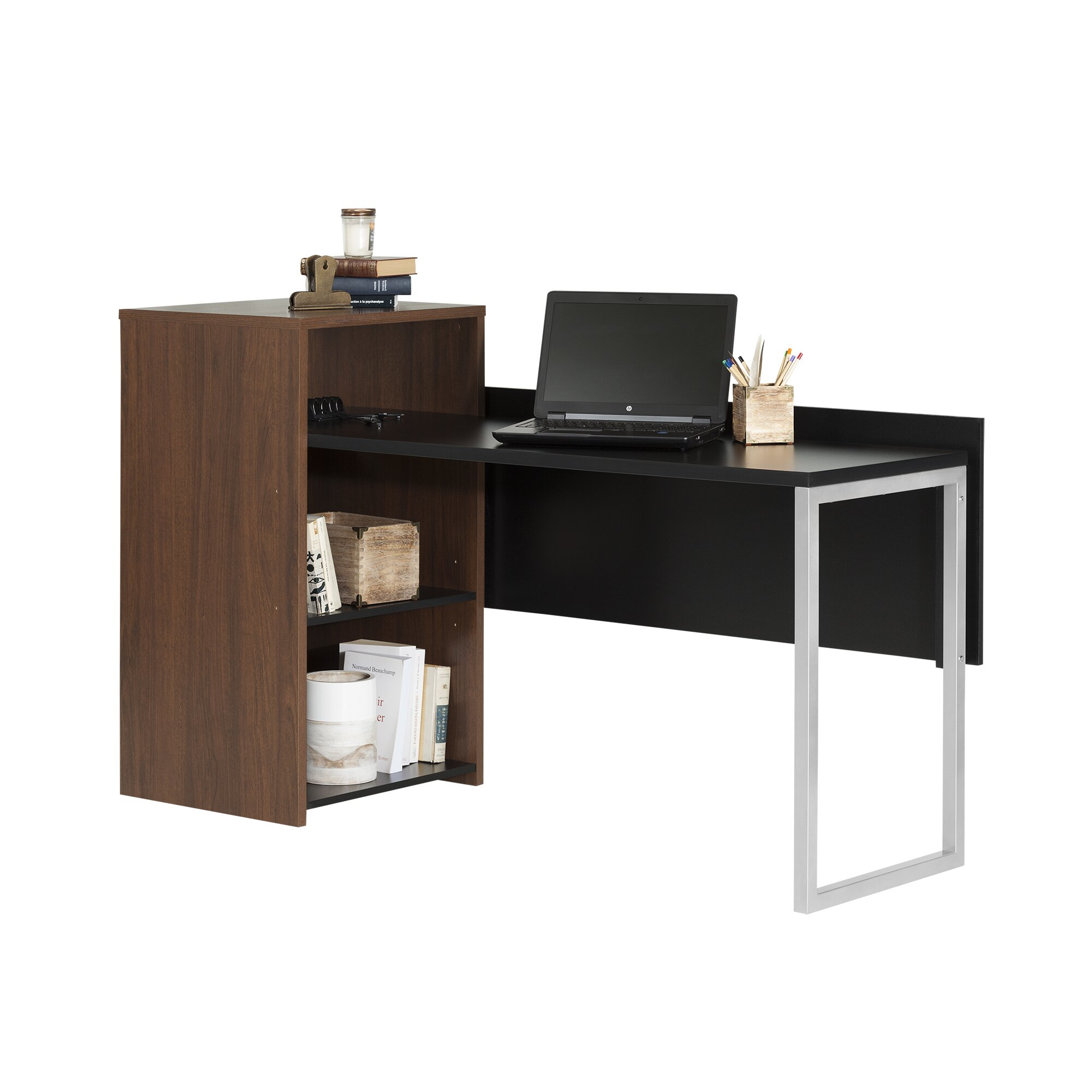 south shore tasko computer desk with storage reviews