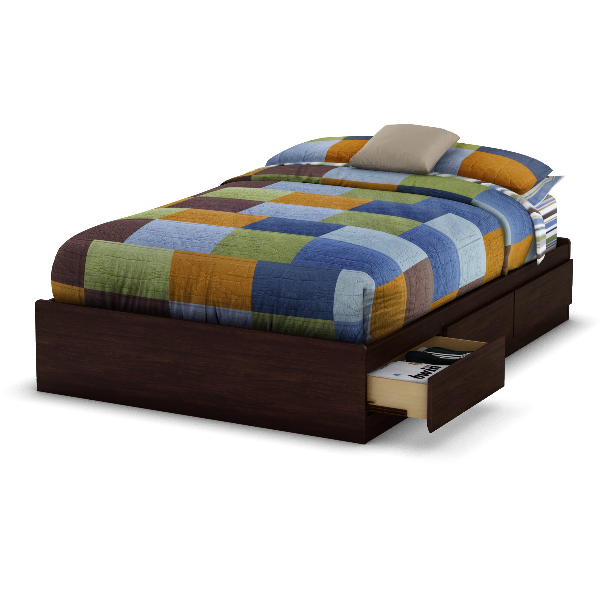 South Shore Willow Storage Platform Bed Reviews Wayfair