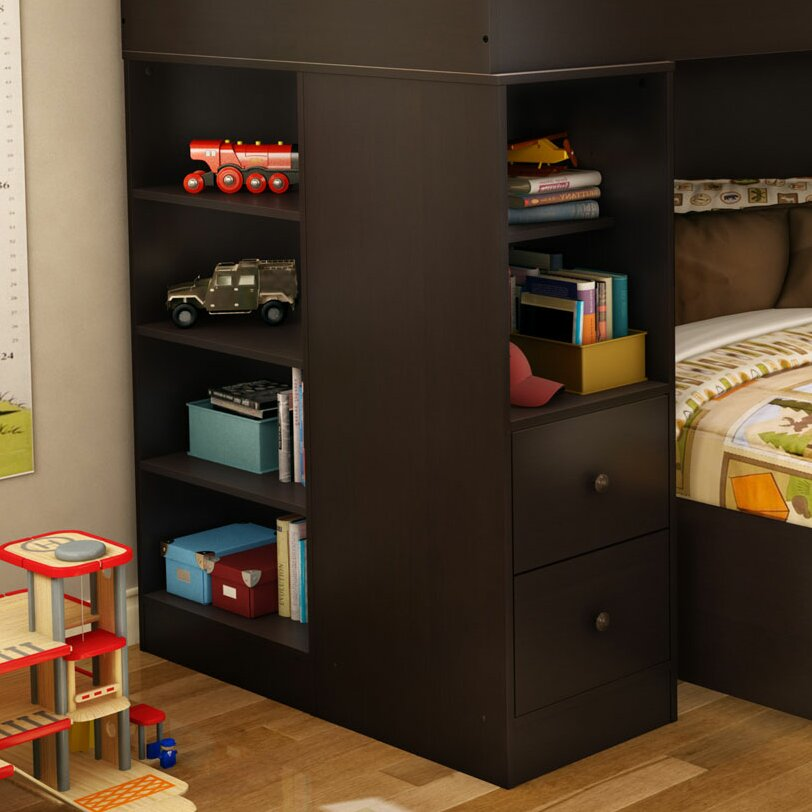 South Shore Logik Twin Over Twin L Shaped Bunk Bed