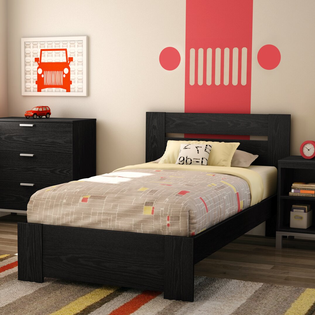 South Shore Flexible Twin Panel Customizable Bedroom Set