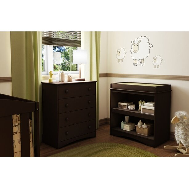 South Shore Peek A Boo Changing Table