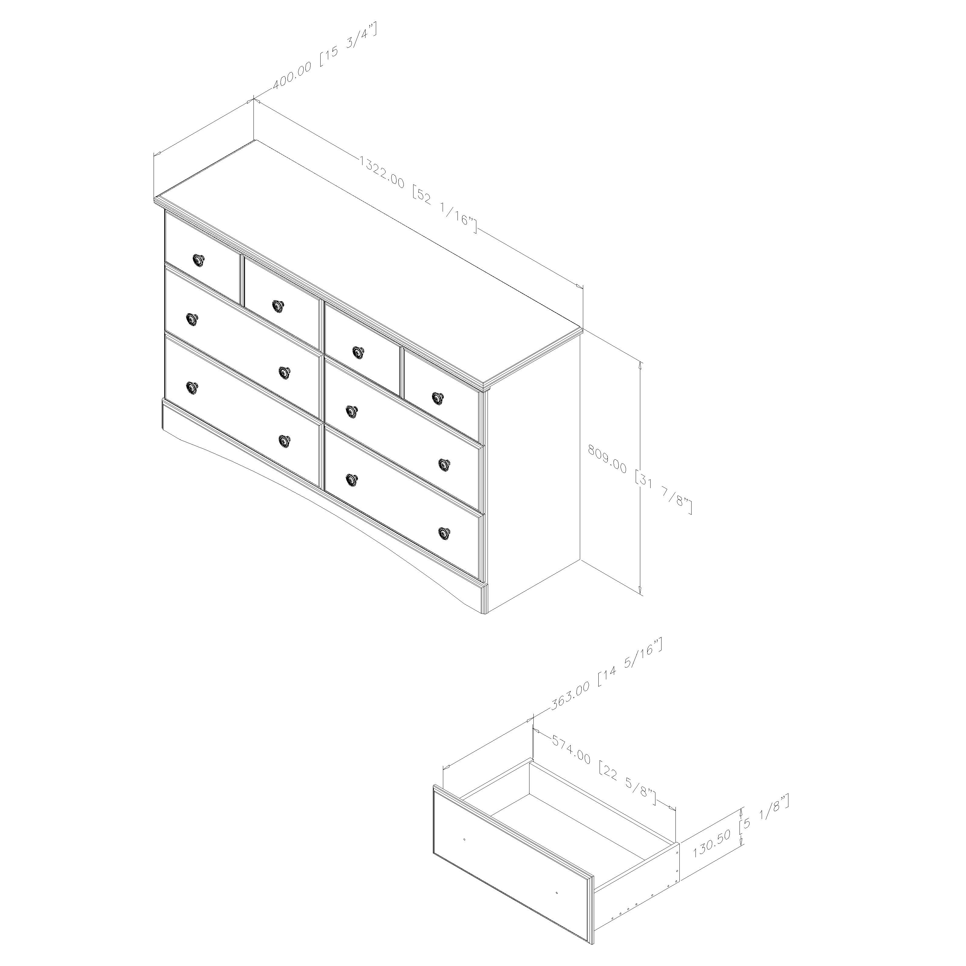 South Shore Morning Dew 6 Drawer Dresser amp Reviews Wayfair : South Shore Morning Dew 6 Drawer Dresser 9016027 from www.wayfair.com size 3182 x 3182 jpeg 373kB