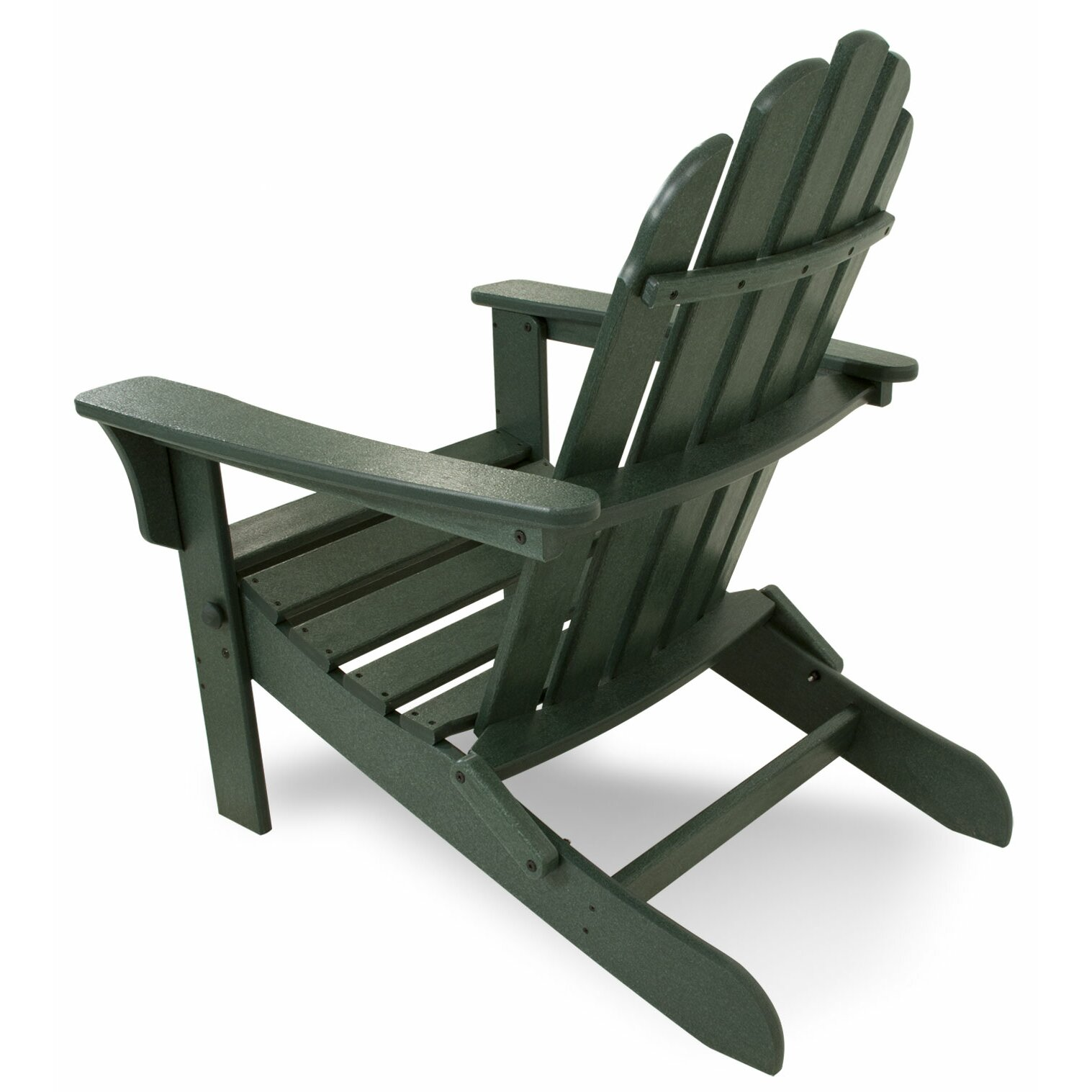Trex trex outdoor cape cod adirondack chair and footstool for Chair and footstool