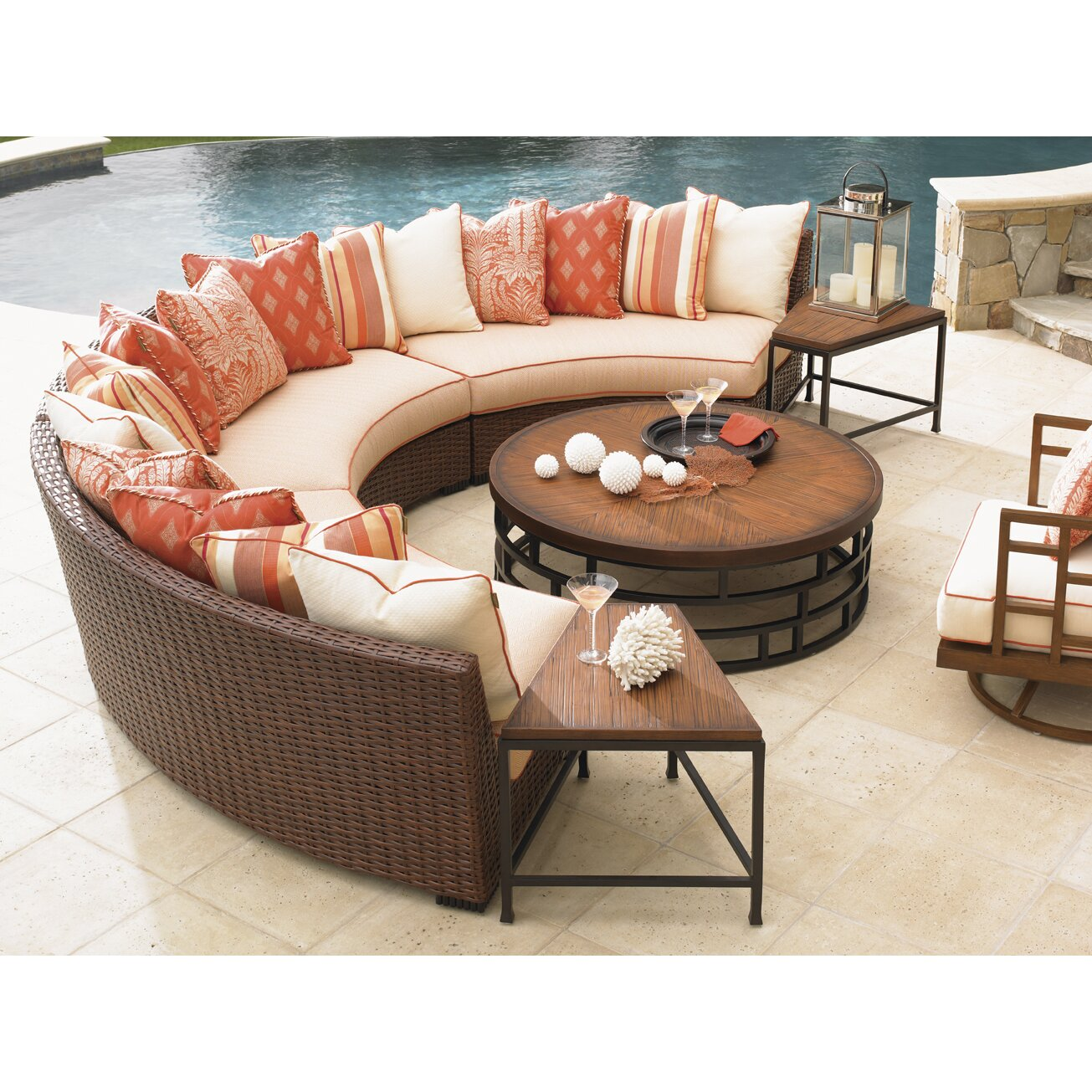 Tommy Bahama Dining Room Set Tommy Bahama Outdoor Ocean Club Resort Coffee Table Amp Reviews