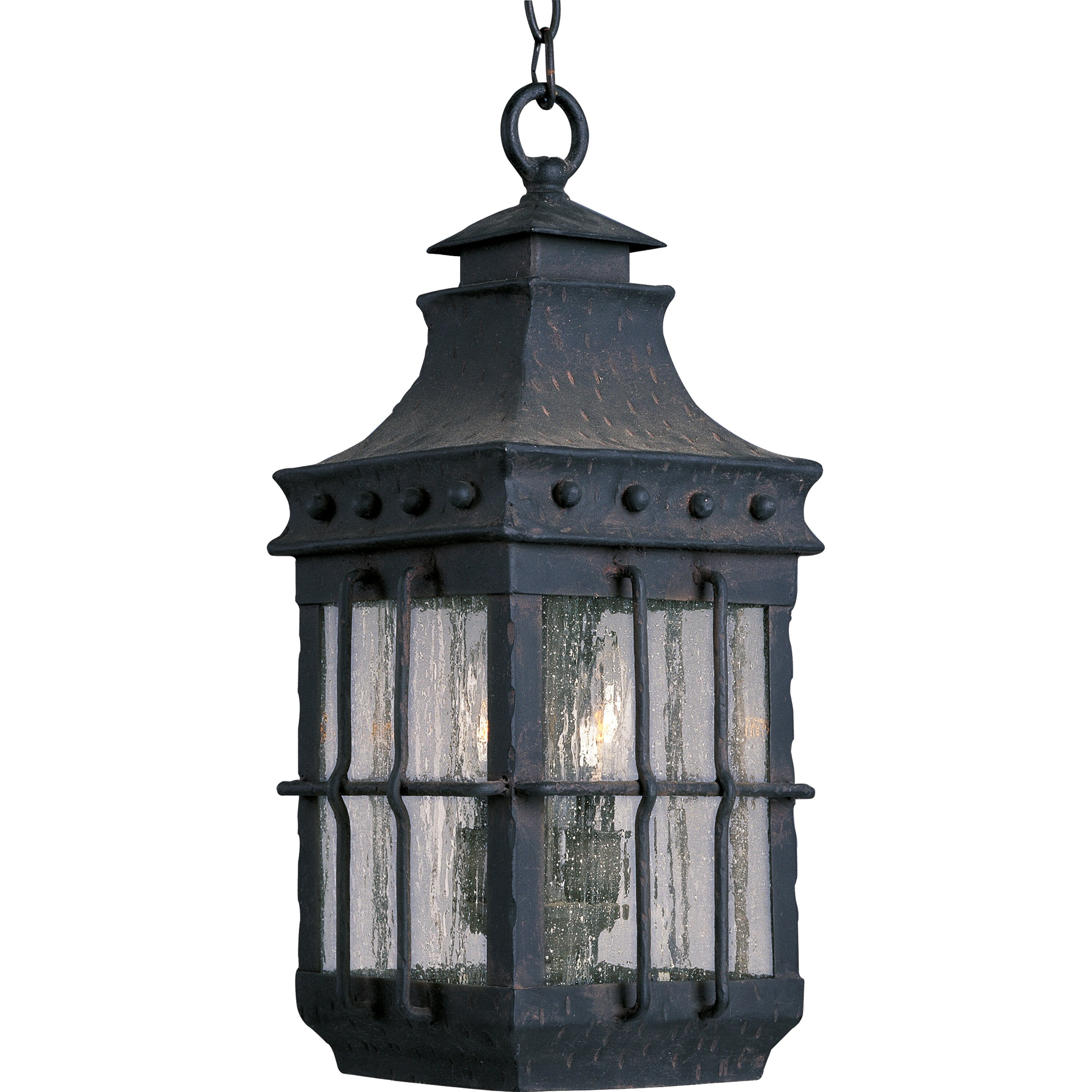 Maxim Lighting Nantucket 3 Light Outdoor Hanging Lantern