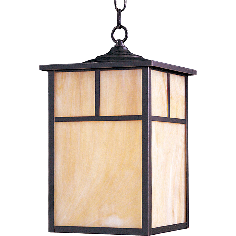 Maxim Lighting Craftsman 1 Light Outdoor Hanging Lantern
