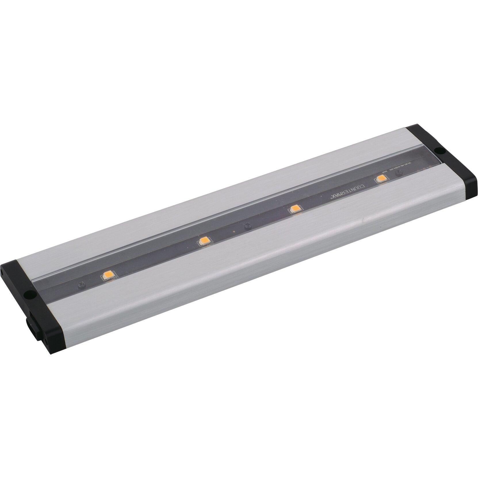 CounterMax MXLLPC 12 LED Under Cabinet Bar Light by Maxim Lighting
