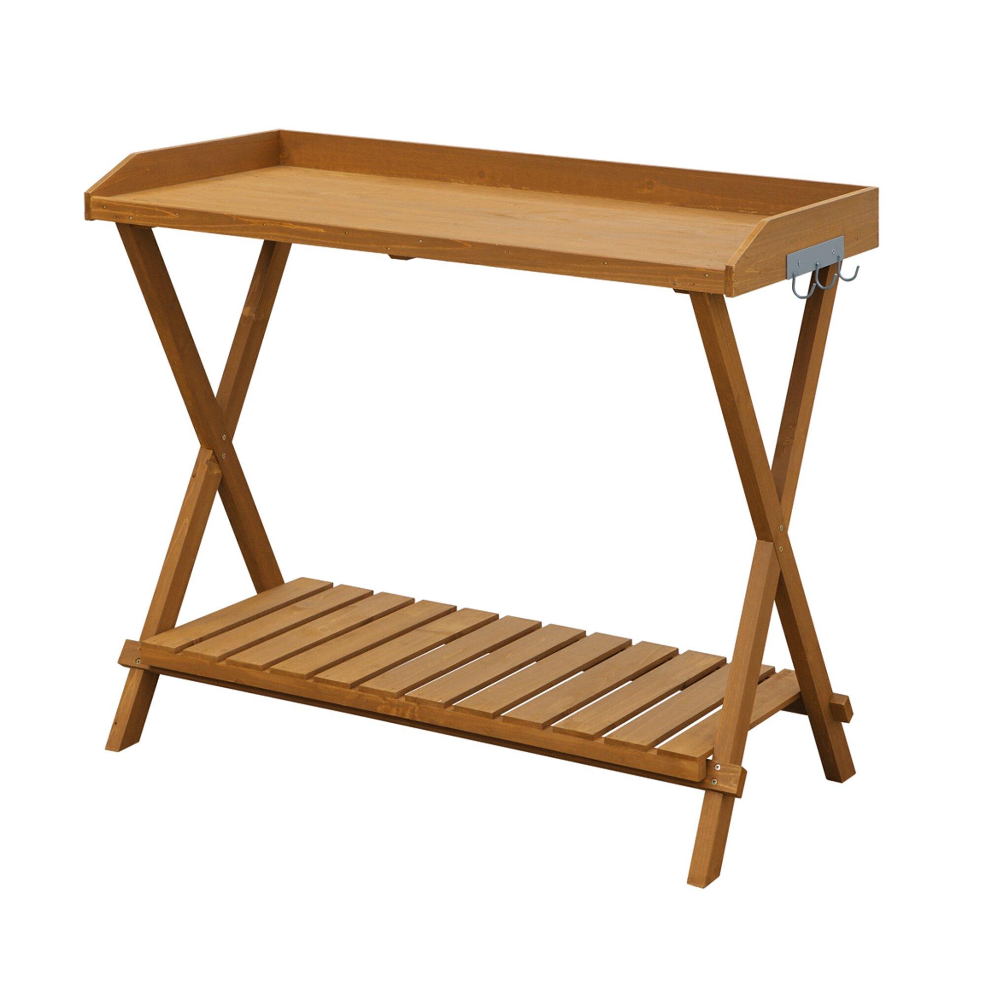 Convenience Concepts Worktop Potting Bench Reviews Wayfair