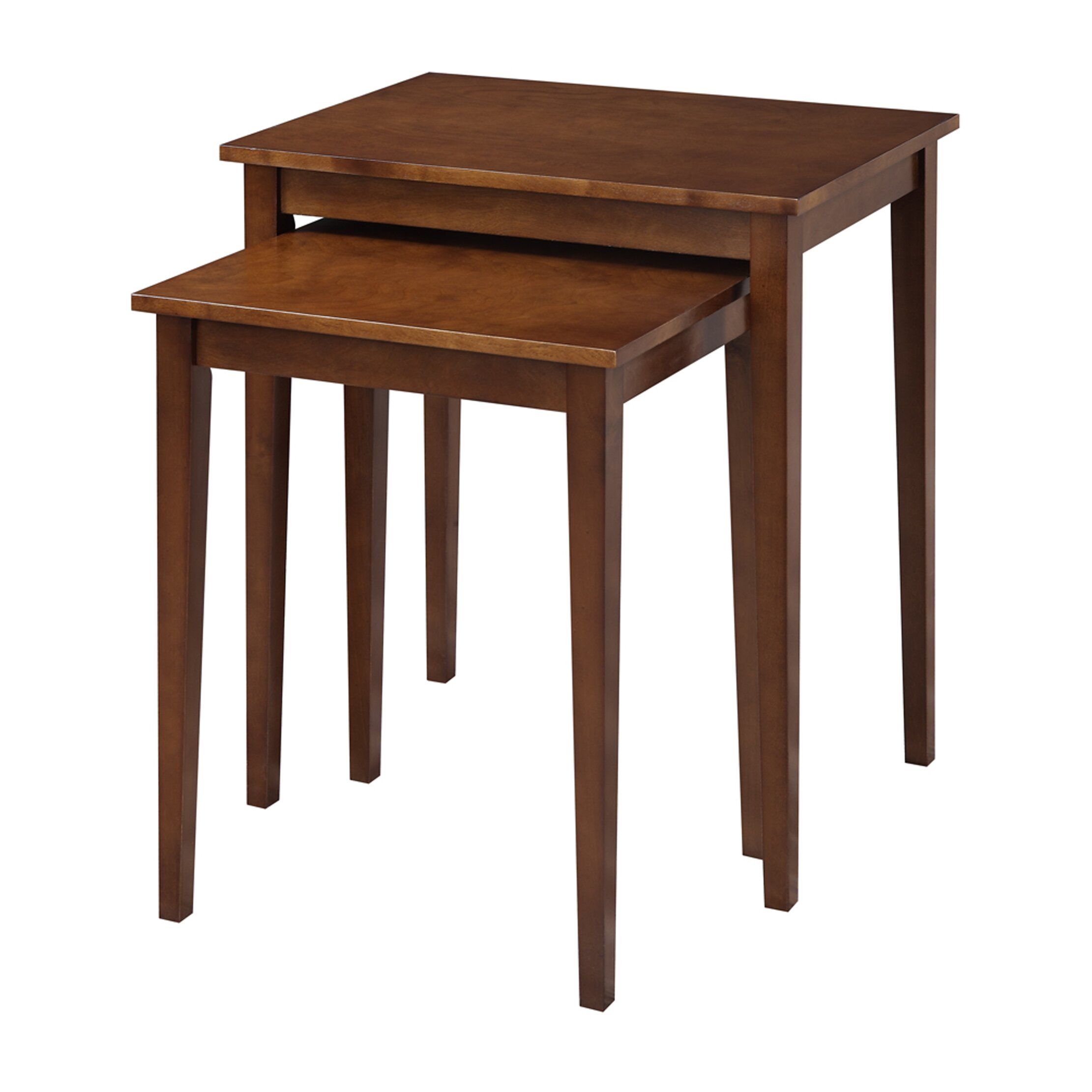 Convenience Concepts American Heritage 2 Piece Nesting Tables & Reviews | Wayfair